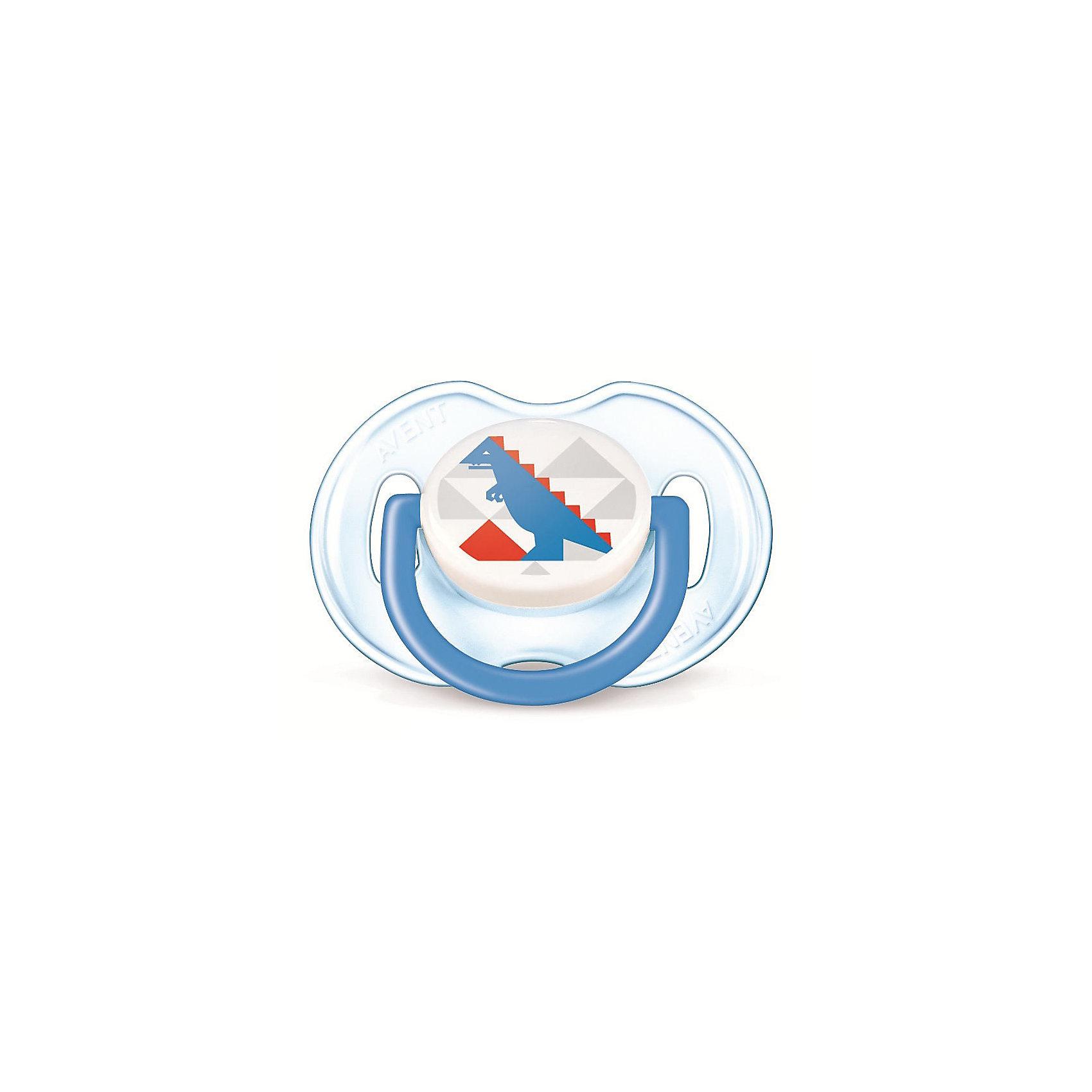Пустышка Дизайн для мальчика , 0-6 месяцев, 1 шт., AVENTПустышки из силикона<br>Плоские симметричные соски пустышек Philips AVENT (Авент) каплевидной формы учитывают строение и естественное развитие неба, зубов и десен малыша и гарантируют комфорт, даже если пустышка переворачивается во рту.<br><br>Силиконовые соски пустышек Philips AVENT (Авент) не обладают вкусом и запахом, что делает их наиболее приемлемыми для малыша. Силикон — это мягкий и прозрачный материал, который не липнет и легко моется. Такая соска прочна и прослужит долго, не потеряв со временем форму и цвет.<br><br>Дополнительная информация:<br><br>Ортодонтическая, симметричная съемная соска<br>Можно стерилизовать<br>Можно мыть в посудомоечной машине<br>Предохранительное кольцо-держатель (Позволяет с легкостью вынуть пустышку Philips AVENT (Авент) в любой момент.)<br>Без запаха и вкуса<br>Без бисфенола-А<br><br>В комплекте:<br><br>Силиконовая соска: 1 шт.<br>Защелкивающийся защитный колпачок: 1 шт.<br><br>Ширина мм: 48<br>Глубина мм: 103<br>Высота мм: 115<br>Вес г: 728<br>Возраст от месяцев: 0<br>Возраст до месяцев: 6<br>Пол: Мужской<br>Возраст: Детский<br>SKU: 3288984