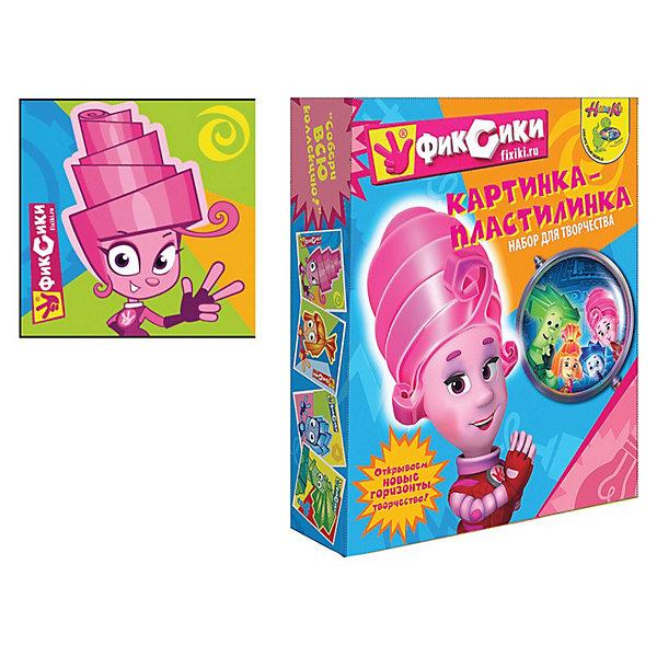 Картинка-пластилинка ФиксикиПопулярные игрушки<br>Картинка-пластилинка Фиксики, Centrum (Центрум)<br><br>Характеристики:<br><br>• можно создать картинку из пластилина <br>• яркий дизайн с любимыми героями мультфильма Фиксики<br>• в комплекте: пластилин (10 цветов), стек, картинка<br>• размер: 18,5х5х22,5 см<br><br>Картинка-пластилинка - увлекательный вид детского творчества. Ребенок сможет создать яркую картинку из пластилина с любимым персонажем мультфильма Фиксики- Масей. Для удобства ребенка в комплект входит стек, который поможет отделить необходимое количество пластилина. Лепка хорошо развивает мелкую моторику и воображение.<br><br>Картинку-пластилинку Фиксики,Centrum (Центрум) можно купить в нашем интернет-магазине.<br><br>Ширина мм: 50<br>Глубина мм: 225<br>Высота мм: 185<br>Вес г: 300<br>Возраст от месяцев: 36<br>Возраст до месяцев: 156<br>Пол: Унисекс<br>Возраст: Детский<br>SKU: 3289537
