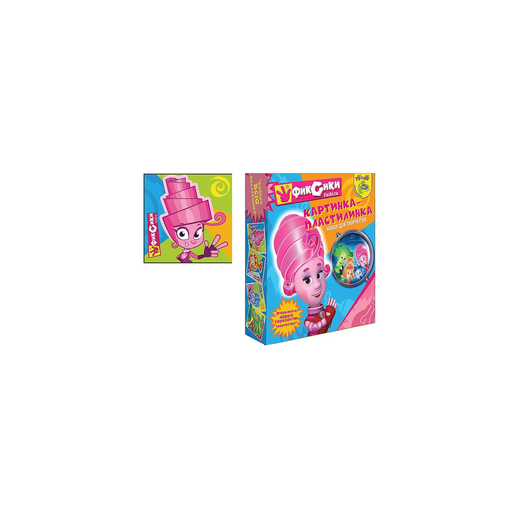 Картинка-пластилинка ФиксикиКартинка-пластилинка Фиксики способствует развитию мелкой моторики Вашего малыша и научит его восприятию цветов и их сочетаний!<br><br>Дополнительная информация:<br><br>В наборе: 10 цветов пластилина, стек, картинка с изображением Мамы-маси.<br>Количество цветов: 10.<br><br>Станет прекрасным развивающим подарком любому ребенку!<br><br>Ширина мм: 50<br>Глубина мм: 225<br>Высота мм: 185<br>Вес г: 300<br>Возраст от месяцев: 36<br>Возраст до месяцев: 156<br>Пол: Унисекс<br>Возраст: Детский<br>SKU: 3289537