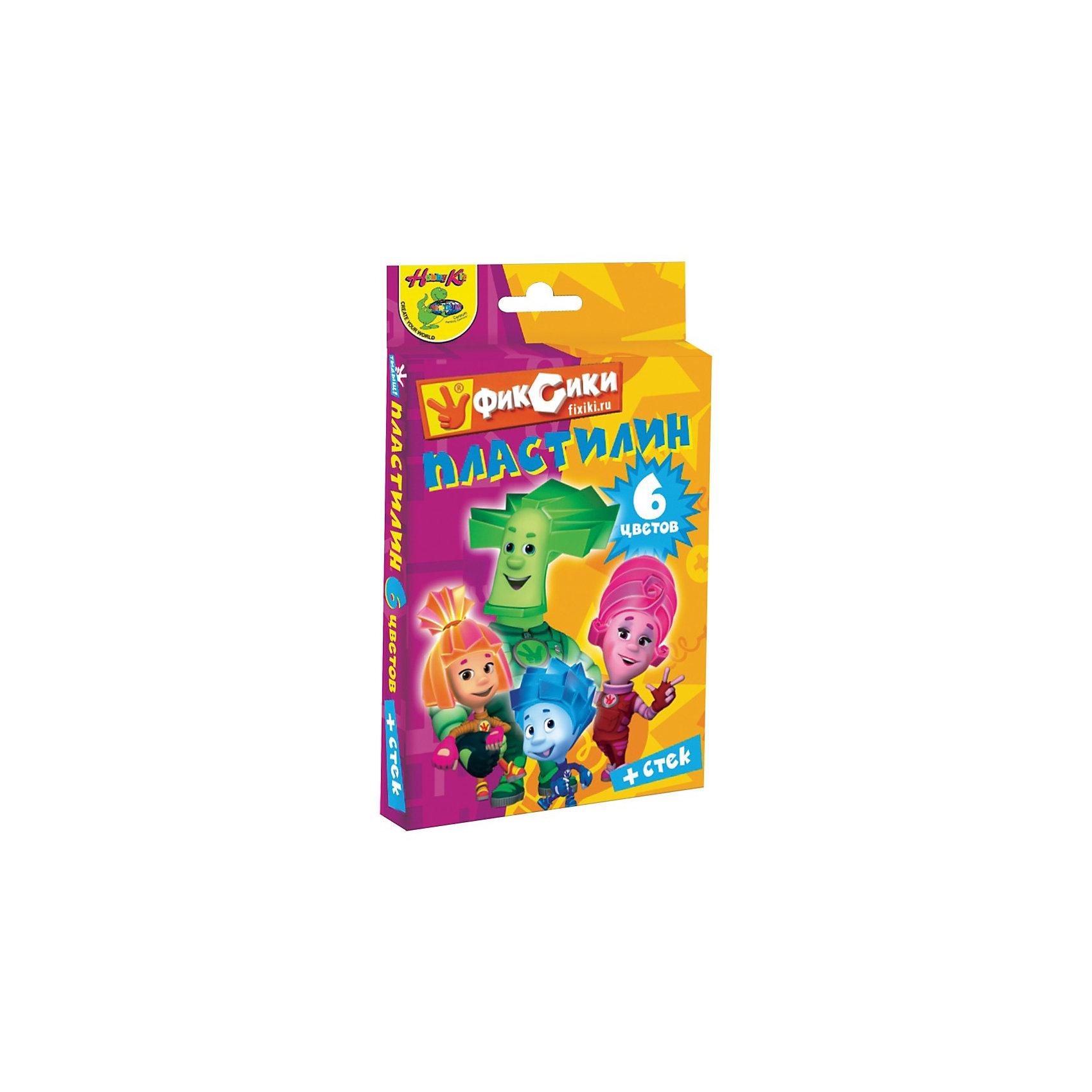 Пластилин 6 цветов  ФиксикиПластилин Фиксики способстует развитию мелкой моторики Вашего малыша. Научит его пространственному мышлению.<br><br>Дополнительная информация:<br><br>Количество цветов: 6.<br>Масса: 120 г.<br>В наборе: пластилин и стек пластиковый.<br><br>Подарит Вашему малышу яркое детство!<br><br>Ширина мм: 80<br>Глубина мм: 40<br>Высота мм: 120<br>Вес г: 150<br>Возраст от месяцев: 36<br>Возраст до месяцев: 156<br>Пол: Унисекс<br>Возраст: Детский<br>SKU: 3289541