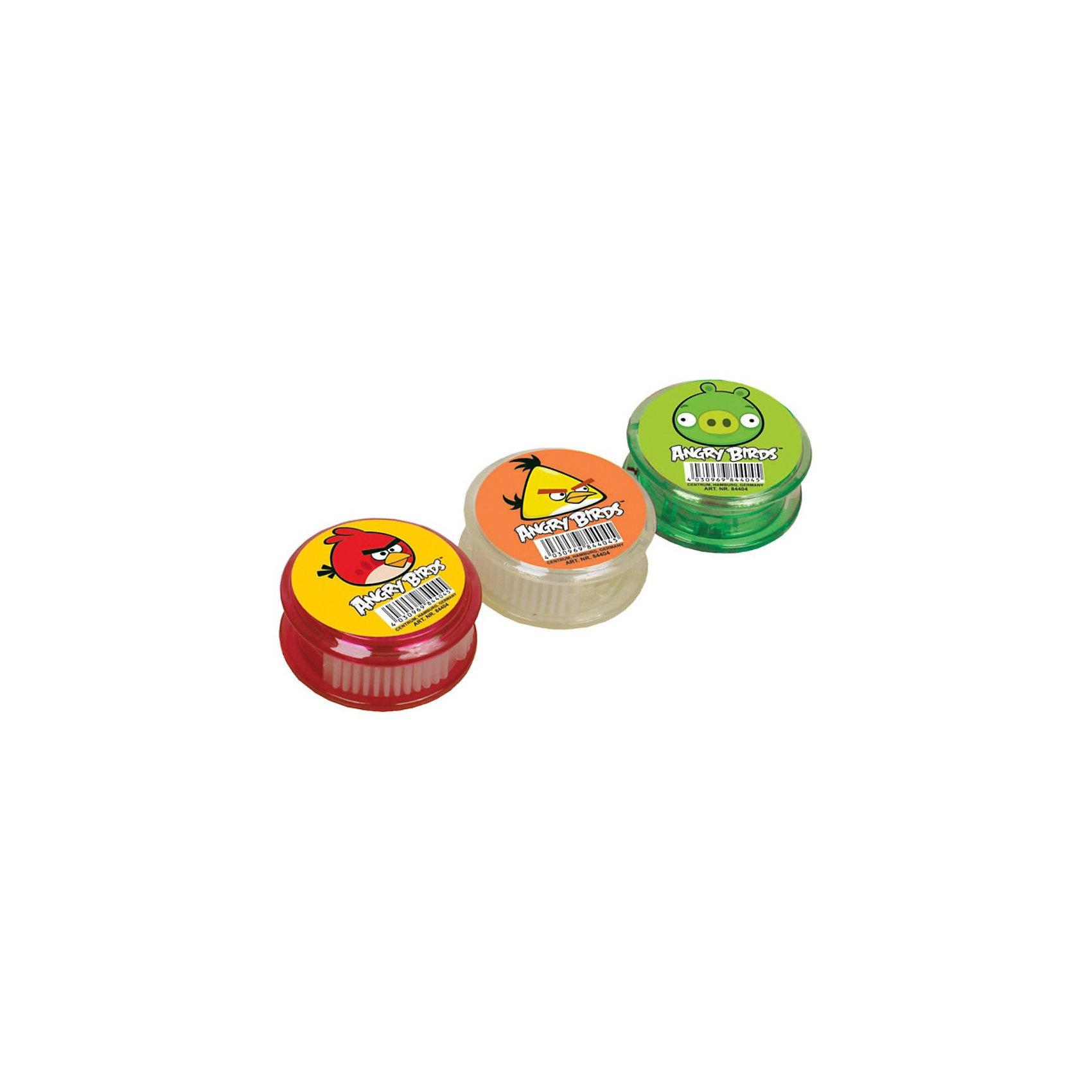 Точилка круглая с контейнером Angry birdsТочилка круглая с контейнером Аngry birds (Злые Птички) поможет Вашему малышу без особых усилий точить цветные и простые карандаши.<br><br>Дополнительная информация:<br><br>- Размеры: 4,5 х 2 см<br>- Материал: пластик<br><br>Точилку круглую с контейнером Аngry birds (Злые Птички) можно купить в нашем магазине.<br><br>Ширина мм: 45<br>Глубина мм: 20<br>Высота мм: 45<br>Вес г: 16<br>Возраст от месяцев: 36<br>Возраст до месяцев: 156<br>Пол: Унисекс<br>Возраст: Детский<br>SKU: 3289551