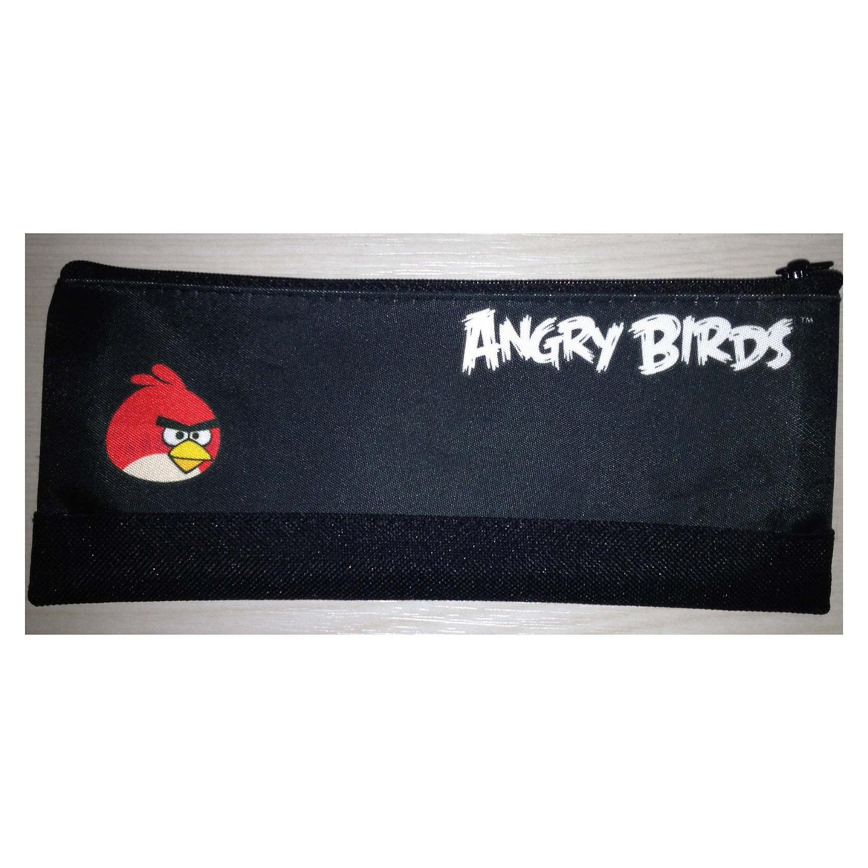 Косметичка плоская  Angry birds