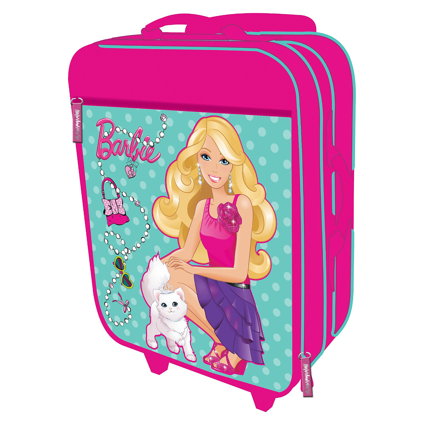 Академия групп Barbie Чемодан на роликах чемодан samsonite чемодан 82 см lite cube dlx