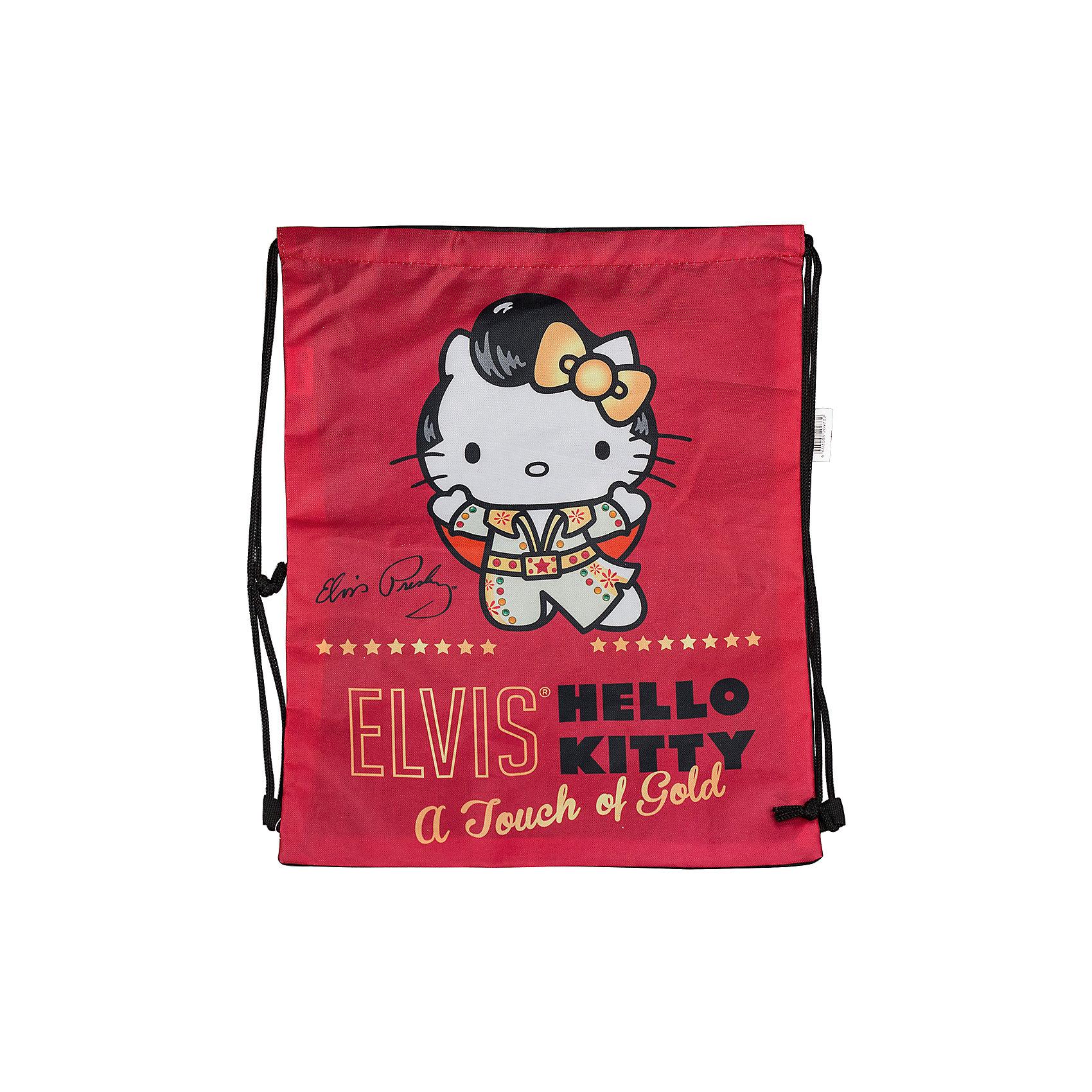 Hello Kitty Сумка-рюкзак для обувиМешки для обуви<br>Сумка-рюкзак для обуви с изображением любимого котенка Hello Kitty станет незаменимым аксессуаром Вашей малышки в школе!<br><br>Дополнительная информация:<br> <br>Размер43 х 34 см.<br><br>Теперь Ваша малышка не забудет взять с собой письменные принадлежности!<br><br>Ширина мм: 10<br>Глубина мм: 400<br>Высота мм: 340<br>Вес г: 71<br>Возраст от месяцев: 96<br>Возраст до месяцев: 144<br>Пол: Женский<br>Возраст: Детский<br>SKU: 3291593