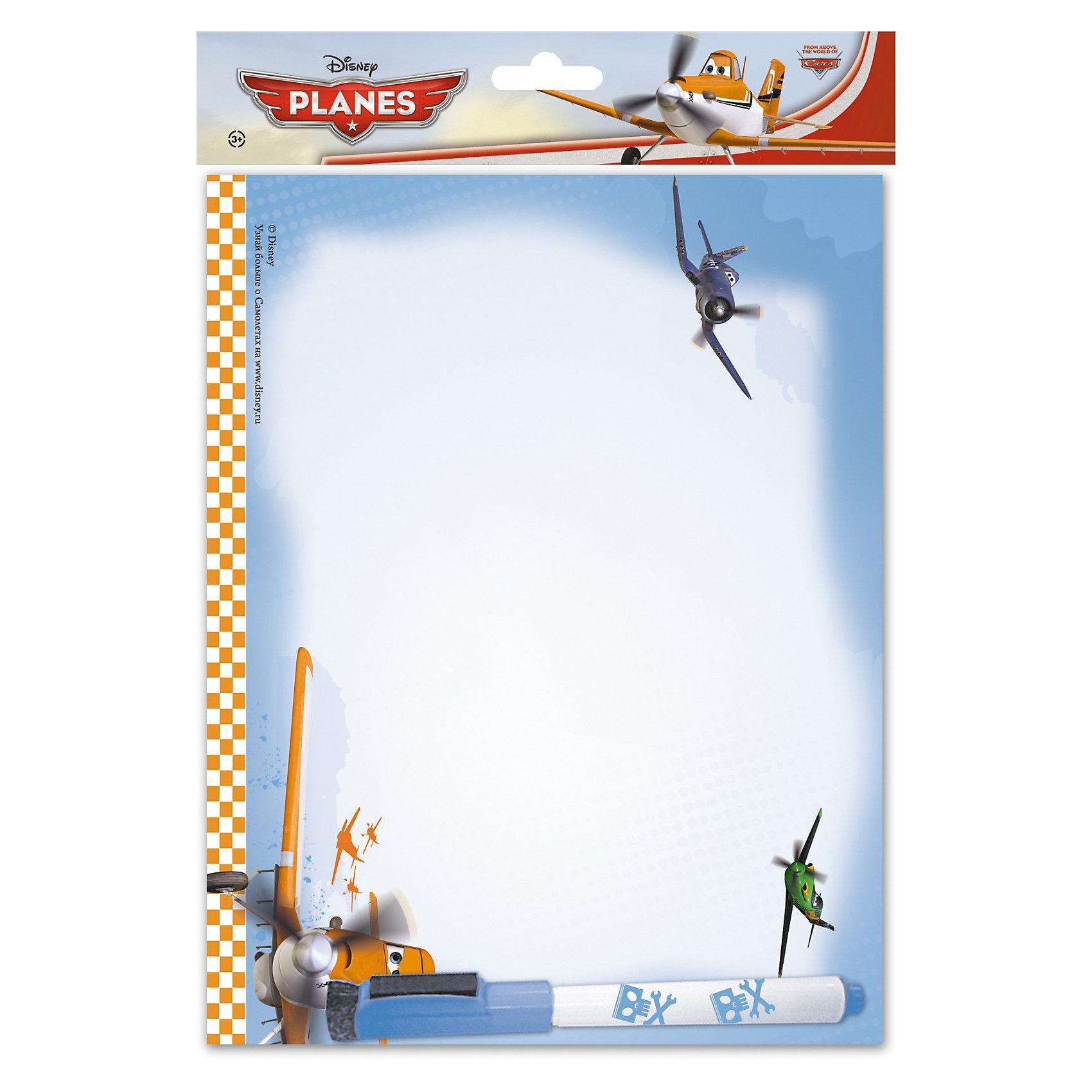 Самолетики Доска Пиши-стирай на магнитах 21 х 27  смДоска Пиши-стирай малая на магнитах для крепления на холодильник с изображением Самолетиков станет любимым пространством для рисования Вашего мальчика!<br><br>Дополнительная информация:<br><br>В комплекте доска и маркер с магнитом. <br>Размер 21 х 27 х 2,5 см, <br>Planes<br><br>Ширина мм: 210<br>Глубина мм: 270<br>Высота мм: 25<br>Вес г: 127<br>Возраст от месяцев: 48<br>Возраст до месяцев: 84<br>Пол: Мужской<br>Возраст: Детский<br>SKU: 3291635