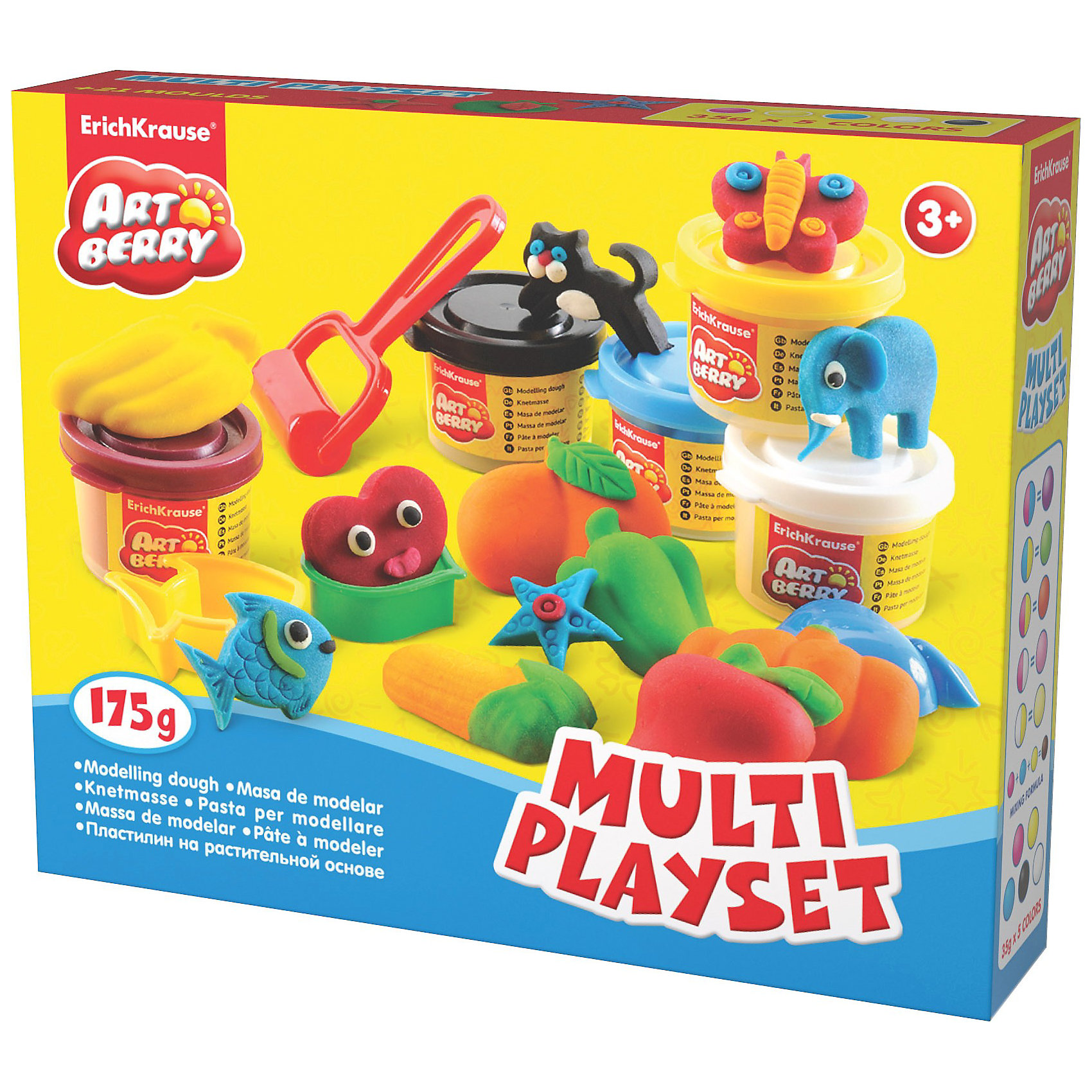 ������� ����� Multi Playset, Artberry, 5 �� (ErichKrause)
