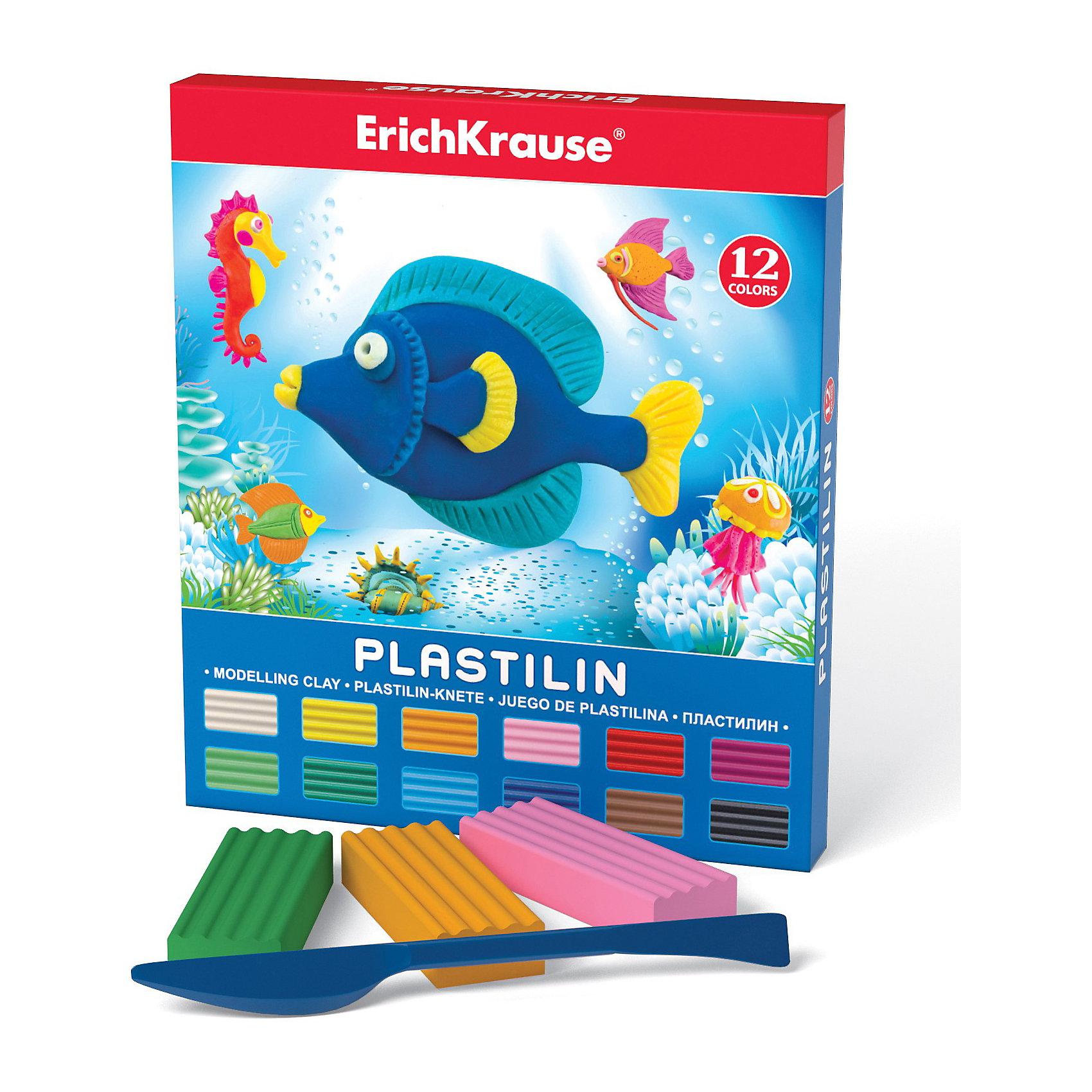 Пластилин  со стеком 12 цвПластилин со стеком, 12 цв  от Erich Krause (Эрих Краузе) это школьный пластилин, который производится на основе безопасных для Вашего малыша компонентов!Сохраняет свою форму, не застывает на воздухе. Бруски пластилина уложены в пластиковый прозрачный поддон, обеспечивающий сохранность внешнего вида и потребительских свойств.<br><br>Ширина мм: 150<br>Глубина мм: 10<br>Высота мм: 180<br>Вес г: 258<br>Возраст от месяцев: 36<br>Возраст до месяцев: 144<br>Пол: Унисекс<br>Возраст: Детский<br>SKU: 3293881