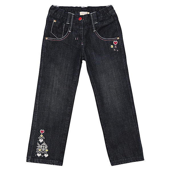 Джинсы для девочки PlayTodayДжинсы<br>* замечательные джинсы на каждый день для маленькой модницы<br>* джинсы на подкладке из хлопка<br>* пояс с внутренней резинкой <br>* застежка - болт, молния<br>* модель с карманами<br>* декор - имитация жаккарда<br>Состав:<br>100% хлопок<br><br>Брюки для девочки PlayToday (Плэйтудей) можно купить в нашем магазине.<br>Ширина мм: 215; Глубина мм: 88; Высота мм: 191; Вес г: 336; Цвет: синий; Возраст от месяцев: 48; Возраст до месяцев: 60; Пол: Женский; Возраст: Детский; Размер: 110,116,104,128,122,98; SKU: 3304376;