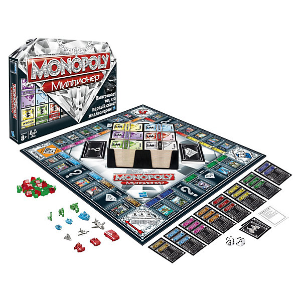 Игра Монополия Миллионер, Hasbro