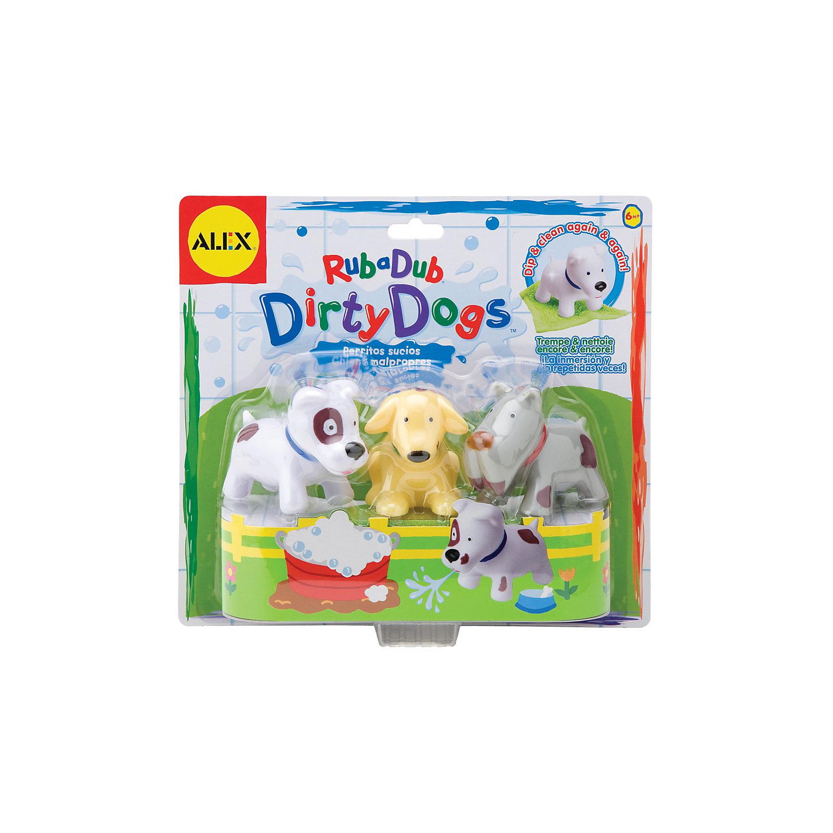 ALEX Игрушка для ванной Вымой щенка, меняет цвет лайки щенка белая церковъ