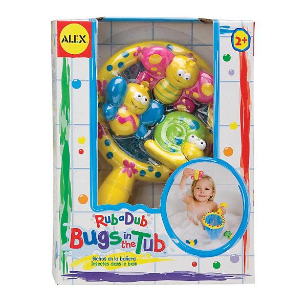 Игра для ванной Поймай бабочкуИгрушки для ванной<br>Игра для ванной Поймай бабочку от ALEX (Алекс).<br>Просто сидеть ребенку в ванной бывает скучно, так что он обязательно придет в восторг от ловли бабочек и улитки в густой пене ванны. Сачок с удобной ручкой, поможет ему в этом. Игра способствует развитию моторики пальцев и координации движений.<br><br>Дополнительная информация: <br>- В наборе: Сетка-сачок с яркой ручкой, 2 разноцветных бабочки и улитка.<br>- Материал: пластик<br>- Размер упаковки: 64х191х254 мм.<br>- Вес: 272 г.<br><br>С игрой для ванной Поймай бабочку ребенок будет весело проводить время в ванной.<br><br>Игру для ванны Поймай бабочку озвученная можно купить в нашем интернет-магазине.<br><br>Ширина мм: 191<br>Глубина мм: 254<br>Высота мм: 64<br>Вес г: 272<br>Возраст от месяцев: 24<br>Возраст до месяцев: 60<br>Пол: Женский<br>Возраст: Детский<br>SKU: 3310476