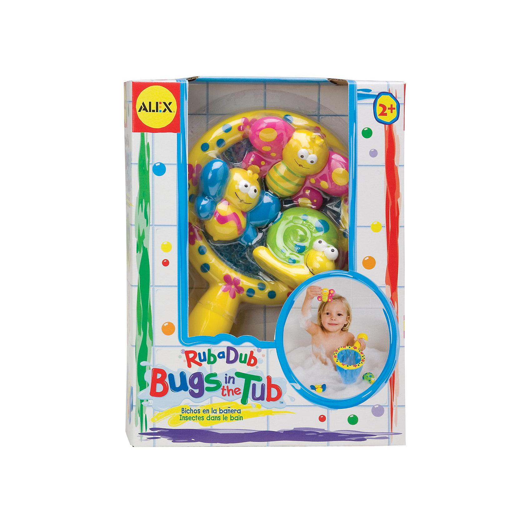 ALEX Игра для ванной Поймай бабочку игрушки для ванной alex игрушки для ванны джунгли