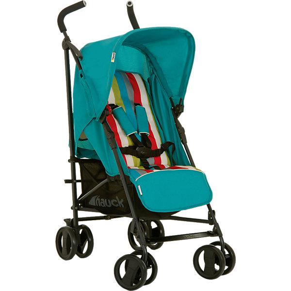Коляска-трость Hauck ROMA, rainbow petrolКоляски-трости<br>Характеристики коляски ROMA:<br><br>Блок:<br><br>• 5-ти точечные ремни безопасности с мягкими накладками;<br>• регулируемая по высоте спинка и подножка;<br>• регулируемый капюшон;<br>• длина спального места: 80 см;<br>• ширина сиденья: 32 см;<br>• материал: пластик, полиэстер.<br><br>Рама коляски: <br><br>• сдвоенные колеса;<br>• механизм складывания: трость;<br>• диаметр колес: 14 см;<br>• тип тормоза: ножной;<br>• материал рамы: алюминий;<br>• материал колес: пластик.<br><br>Размеры: <br><br>• размер коляски: 78х47х107 см;<br>• размер в сложенном виде: 108х34х27 см;<br>• вес коляски: 7,3 кг;<br>• вес в упаковке: 10,3 кг.<br><br>Коляску-трость ROMA, Hauck, rainbow petrol можно купить в нашем интернет-магазине.<br><br>Ширина мм: 1109<br>Глубина мм: 300<br>Высота мм: 260<br>Вес г: 9030<br>Цвет: бирюзовый<br>Возраст от месяцев: 6<br>Возраст до месяцев: 36<br>Пол: Унисекс<br>Возраст: Детский<br>SKU: 3311332