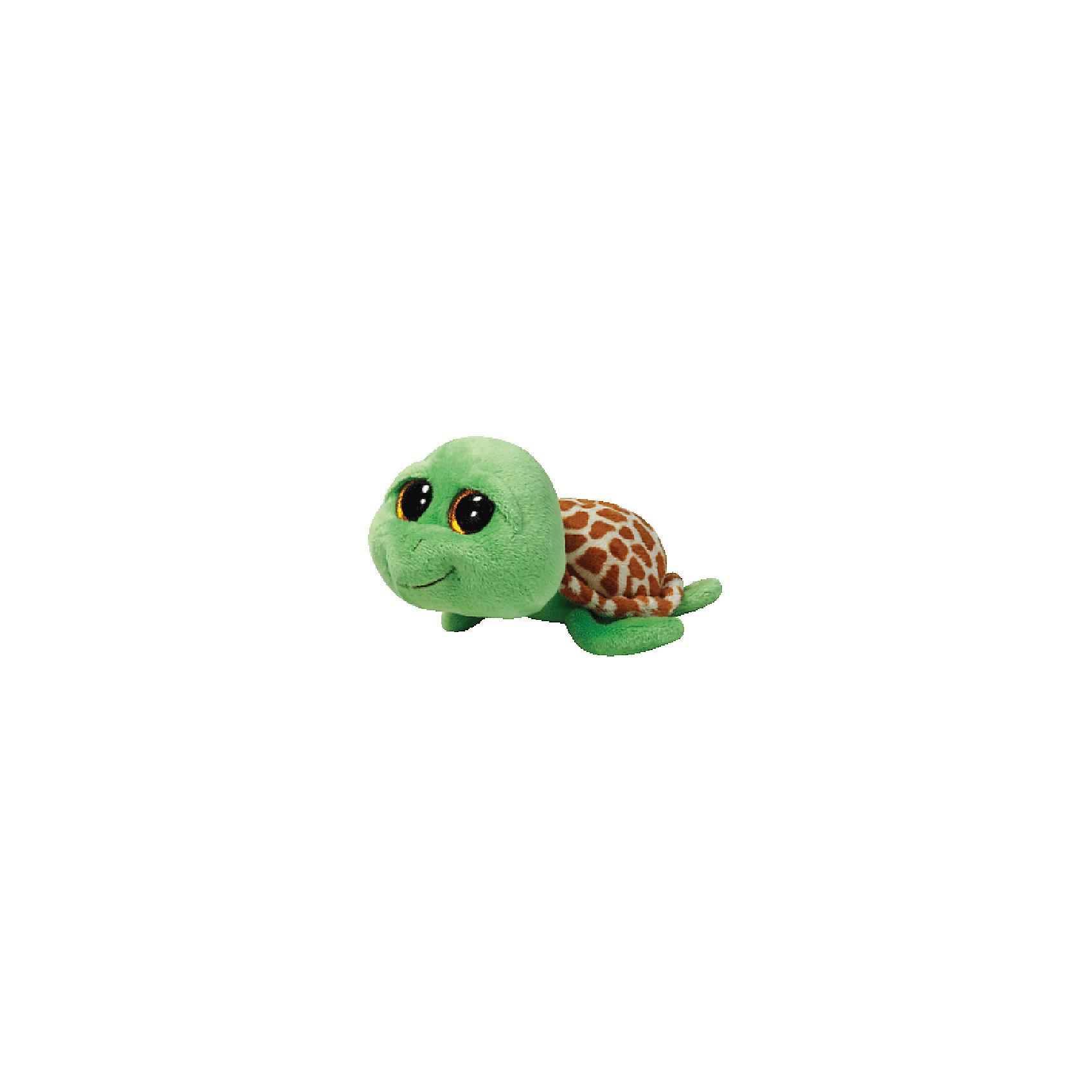Черепашка Zippy (зеленая), 15,24 смЗамечательная Черепашка Zippy от Ту станет самым лучшим другом Вашему малышу. Она станет любимой игрушкой, с которой можно весело играть днем и уютно засыпать ночью. Игрушечная черепашка составит приятную компанию малышу на прогулке. Особенность игрушки в том, что она понравится как мальчикам, так и девочкам. Замечательная Черепашка Zippy с невероятно добрыми искренними глазками еще никого не оставляла равнодушным! У черепашки мягкая шерстка, панцирь и забавная мордочка. Ребенок может разыгрывать любые сюжеты с забавным другом, благодаря чему у него будет развиваться фантазия, воображение, а также навыки сюжетно-ролевой игры. Заботясь о маленьком друге малыш научится бережному отношению к своим вещам, игрушкам и животным. Рассказав ребенку о черепашках и их повадках, Вы расширите представления малыша об окружающем мире!<br><br>Дополнительная информация:<br><br>- Игрушка развивает: тактильные навыки, зрительную координацию, мелкую моторику рук;<br>- Материалы не вызовут аллергии у Вашего малыша;<br>- Яркие и стойкие цвета приятны для глаз;<br>- Материал: ткань, пластик, искусственный мех;<br>- Наполнение: синтепон;<br>- Цвет: зеленый;<br>- Высота игрушки: 15,24 см<br><br>Черепашку Zippy, Ty, можно купить в нашем интернет-магазине.<br><br>Ширина мм: 176<br>Глубина мм: 93<br>Высота мм: 78<br>Вес г: 78<br>Возраст от месяцев: 12<br>Возраст до месяцев: 60<br>Пол: Унисекс<br>Возраст: Детский<br>SKU: 3315410