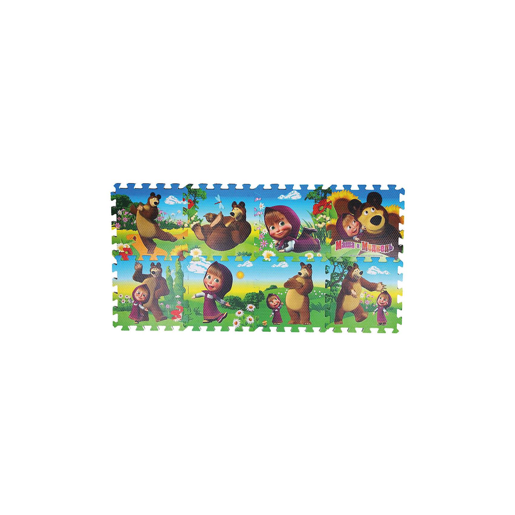 Коврик-пазл Маша и медведь, 8 сегментовМозаика<br>Безопасный и комфортный игровой коврик из пористого прорезиненного материала. Можно использовать на природе. <br>Коврик развивает пространственное мышление, геометрические ассоциации<br><br>Дополнительная информация:<br><br>- коврик состоит из 8 сегментов, на каждом красочная картинка<br>- размер каждого сегмента 31,5*31,5*1см, можно собирать в любом порядке<br><br>Коврик-пазл Маша и медведь, 8 сегментов можно купить в нашем магазине.<br><br>Ширина мм: 310<br>Глубина мм: 80<br>Высота мм: 310<br>Вес г: 630<br>Возраст от месяцев: 12<br>Возраст до месяцев: 84<br>Пол: Унисекс<br>Возраст: Детский<br>SKU: 3315464