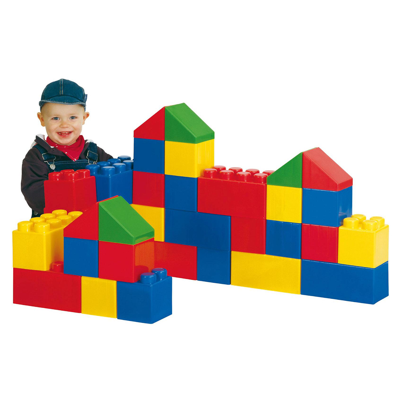 Конструктор строительный XXL, 36 элементов, ПолесьеПластмассовые конструкторы<br>Конструктор серии «XXL» специально создан для игр маленьких детей, крупные элементы безопасны и позволяют развивать моторику рук и физику тела  ребенка. Во время игры с конструктором из серии «XXL» у ребенка активно развивается пространственное и логическое мышление. Возводя постройки, маленький строитель получает понятие о симметрии/асимметрии, учиться подбирать нужные блоки по размеру, цвету и, конечно же, тренирует свое воображение.<br><br>Ширина мм: 600<br>Глубина мм: 444<br>Высота мм: 230<br>Вес г: 4444<br>Возраст от месяцев: 36<br>Возраст до месяцев: 96<br>Пол: Унисекс<br>Возраст: Детский<br>SKU: 3318728