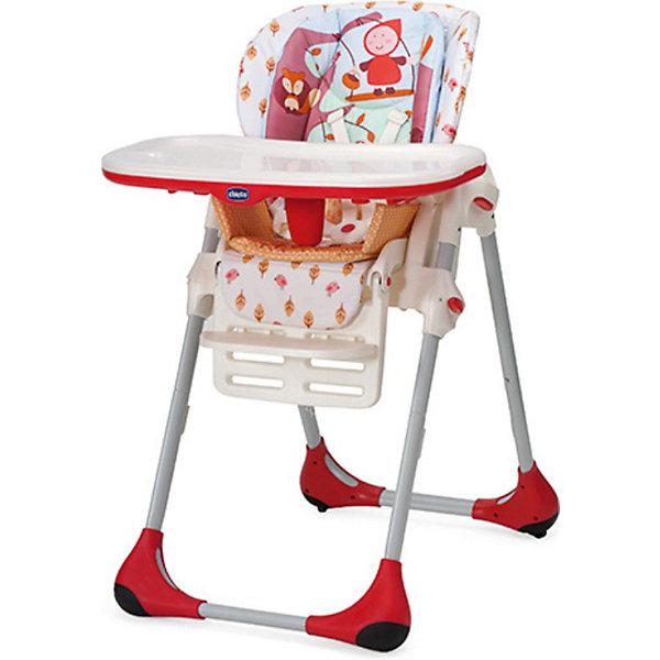 Стульчик для кормления Polly 2 в 1 Happy Land, ChiccoСтульчики для кормления<br>Высокий детский стульчик Chicco Polly 2 в 1 – это первый стульчик, который можно использовать для малыша от 5 месяцев до 3 лет.<br><br>В течение первого периода стульчик Polly проявляет себя в качестве удобного и безопасного стульчика. Идеально подходит для периода отнятия от груди. Затем, когда малыш учится<br>есть самостоятельно, верхние вставки можно снять, поддон можно отсоединить, и тогда стульчик Polly становится первым стулом вашего малыша и дает ему возможность сидеть за столом с мамой и папой и делить с ними этот важный ежедневный момент. Ремень безопасности на пять положений, регулируемый до двух уровней высоты, прочный паховый ремень.<br>Четыре поворотных колеса.<br><br>Дополнительная информация:<br><br>- Материал: ПВХ-материал, легко моющийся, нетоксичный, стойкий.<br>- Рекомендованный возрастной диапазон малыша от 6 месяцев, вес до 15 кг.<br>- Размер в раскрытом виде: 55 x 85 x 104,5 см <br>- Размер в сложенном виде: 55 x 27 x 100 см<br>- Вес товара: 12,5 кг<br><br>Ширина мм: 540<br>Глубина мм: 315<br>Высота мм: 640<br>Вес г: 12600<br>Возраст от месяцев: 6<br>Возраст до месяцев: 36<br>Пол: Унисекс<br>Возраст: Детский<br>SKU: 3319084