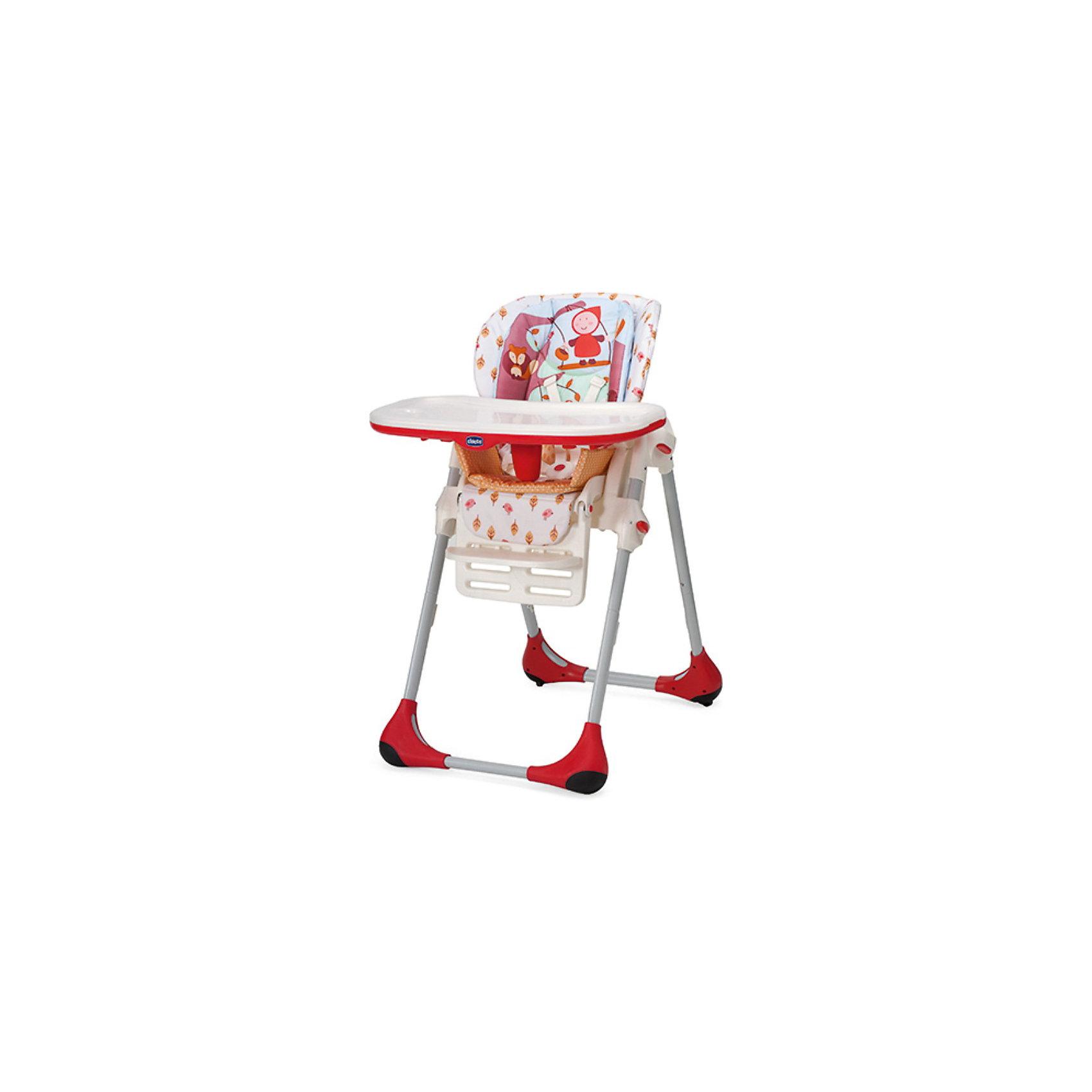 Стульчик для кормления POLLY Happy Land, ChiccoВысокий детский стульчик Chicco Polly 2 в 1 – это первый стульчик, который можно использовать для малыша от 5 месяцев до 3 лет.<br><br>В течение первого периода стульчик Polly проявляет себя в качестве удобного и безопасного стульчика. Идеально подходит для периода отнятия от груди. Затем, когда малыш учится<br>есть самостоятельно, верхние вставки можно снять, поддон можно отсоединить, и тогда стульчик Polly становится первым стулом вашего малыша и дает ему возможность сидеть за столом с мамой и папой и делить с ними этот важный ежедневный момент. Ремень безопасности на пять положений, регулируемый до двух уровней высоты, прочный паховый ремень.<br>Четыре поворотных колеса.<br><br>Дополнительная информация:<br><br>- Материал: ПВХ-материал, легко моющийся, нетоксичный, стойкий.<br>- Рекомендованный возрастной диапазон малыша от 6 месяцев, вес до 15 кг.<br>- Размер в раскрытом виде: 55 x 85 x 104,5 см <br>- Размер в сложенном виде: 55 x 27 x 100 см<br>- Вес товара: 12,5 кг<br><br>Ширина мм: 540<br>Глубина мм: 315<br>Высота мм: 640<br>Вес г: 12600<br>Возраст от месяцев: 6<br>Возраст до месяцев: 36<br>Пол: Унисекс<br>Возраст: Детский<br>SKU: 3319084