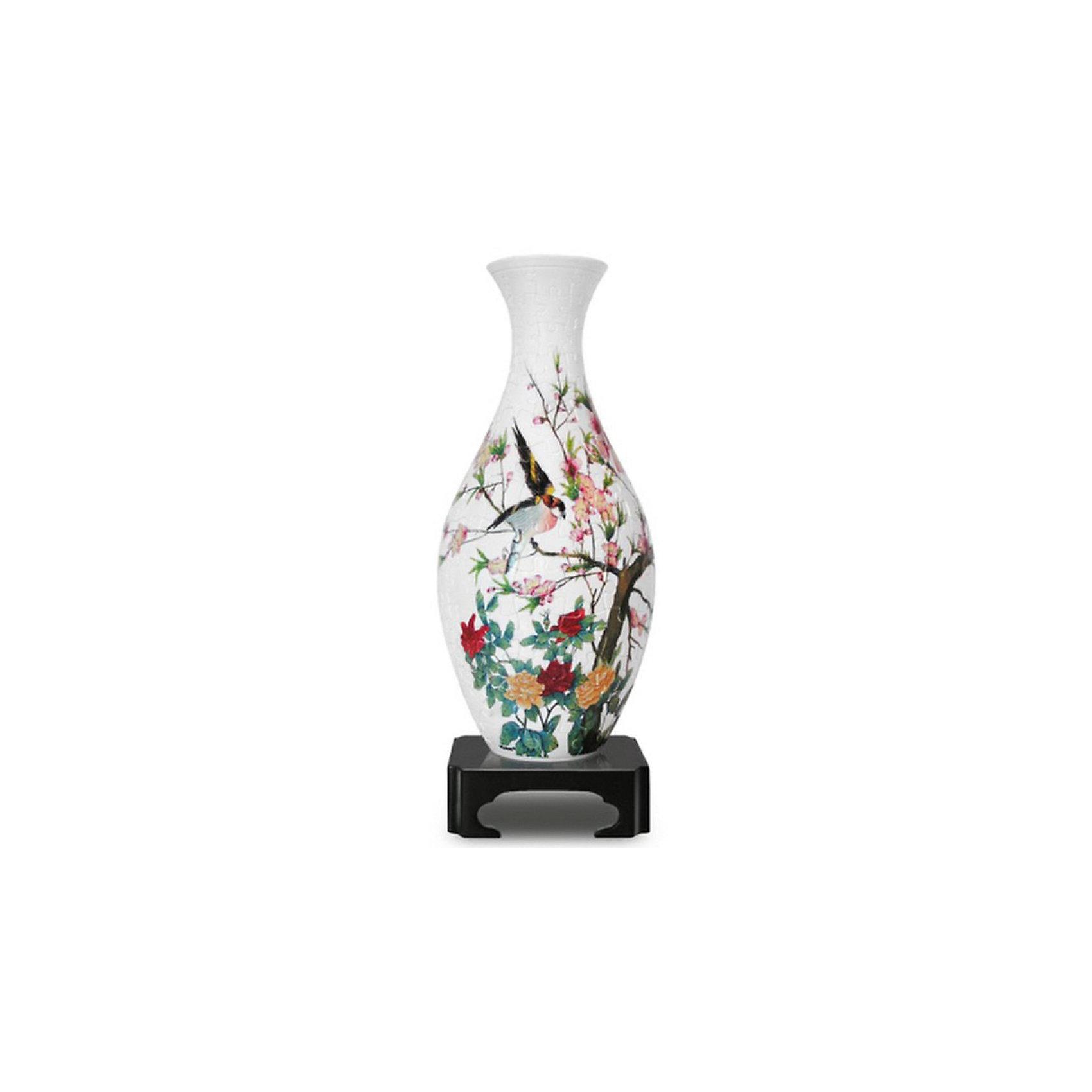 Пазл 3D  Вазы: Сакура, 160 деталей, Pintoo3D пазлы<br>3D пазл-сфера Ваза Сакура, Pintoo - это возможность сделать необычный подарок себе и близким - ваза из пазлов. <br><br>Детали изготовлены из прочного пластика, они плотно фиксируются одна с другой без клея и образуют прочную конструкцию. Внутрь вазы помещается колба и ...можно ставить в вазу живые цветы!<br><br>Дополнительная информация:<br><br>- В комплект входят: пазлы для создания вазы, внутренняя колба, подставка для вазы.<br>- Количество деталей: 160.<br>- Материал: высококачественный плотный пластик<br>-Упаковка: цветная коробка из плотного картона с изображением собранного пазла.<br>-  Размер вазы: с подставкой 27х11х11 см, без подставки 24х11х11 см.<br><br>3D пазл-сферу Ваза Сакура, Pintoo можно купить в нашем интернет-магазине.<br><br>Ширина мм: 110<br>Глубина мм: 300<br>Высота мм: 110<br>Вес г: 400<br>Возраст от месяцев: 72<br>Возраст до месяцев: 1200<br>Пол: Унисекс<br>Возраст: Детский<br>Количество деталей: 160<br>SKU: 3322275