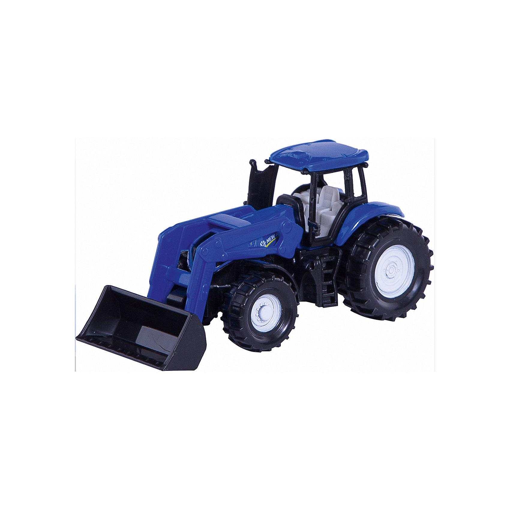 SIKU Трактор New Holland, синий (1:72), SIKU siku трактор new holland синий 1 72 siku