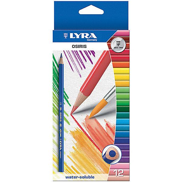 Цветные акварельные карандаши треугольной формы, 12 шт.Письменные принадлежности<br>Цветные акварельные карандаши, 12 шт.  Треугольной формы. Диаметр грифеля 3,3 мм. Экономичная линейка карандашей<br><br>Ширина мм: 219<br>Глубина мм: 101<br>Высота мм: 12<br>Вес г: 100<br>Возраст от месяцев: 60<br>Возраст до месяцев: 192<br>Пол: Унисекс<br>Возраст: Детский<br>SKU: 3322932