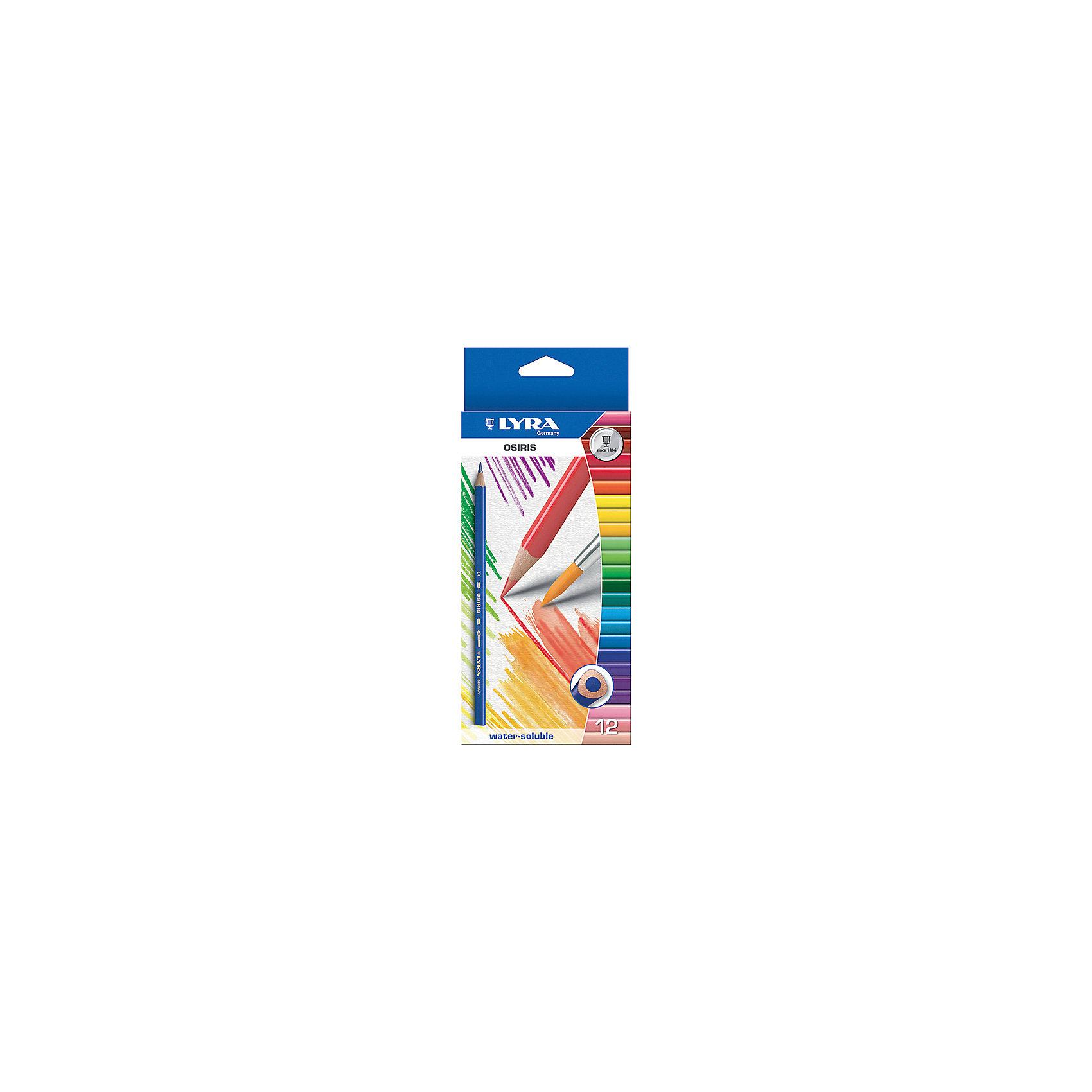 Цветные акварельные карандаши треугольной формы, 12 шт.Рисование<br>Цветные акварельные карандаши, 12 шт.  Треугольной формы. Диаметр грифеля 3,3 мм. Экономичная линейка карандашей<br><br>Ширина мм: 219<br>Глубина мм: 101<br>Высота мм: 12<br>Вес г: 100<br>Возраст от месяцев: 60<br>Возраст до месяцев: 192<br>Пол: Унисекс<br>Возраст: Детский<br>SKU: 3322932