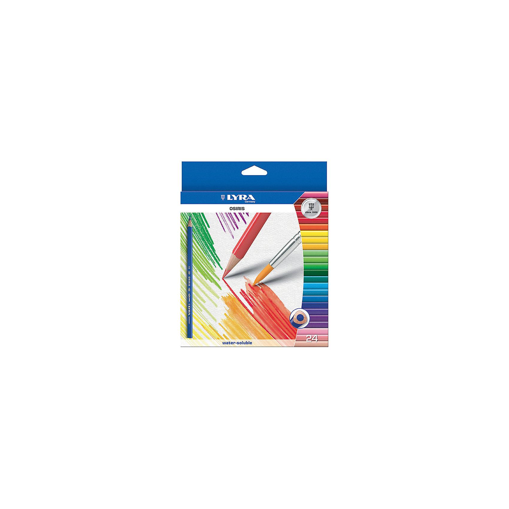 Цветные акварельные карандаши треугольной формы, 24 шт.Письменные принадлежности<br>Цветные акварельные карандаши, 24 шт.  Треугольной формы. Диаметр грифеля 3,3 мм. Экономичная линейка карандашей<br><br>Ширина мм: 217<br>Глубина мм: 192<br>Высота мм: 12<br>Вес г: 187<br>Возраст от месяцев: 60<br>Возраст до месяцев: 192<br>Пол: Унисекс<br>Возраст: Детский<br>SKU: 3322933