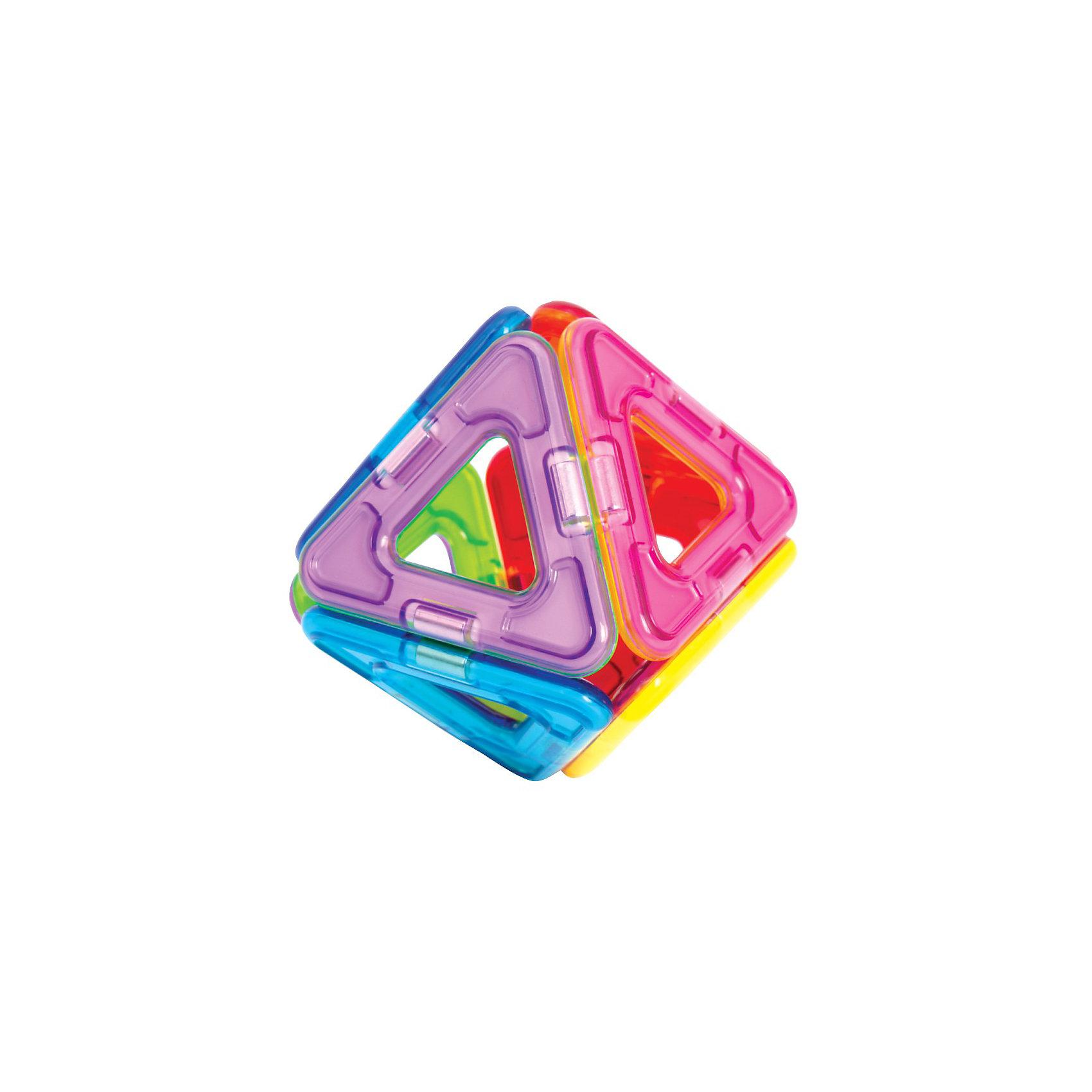 Магнитный конструктор Треугольники, 8 деталей, MAGFORMERS от myToys