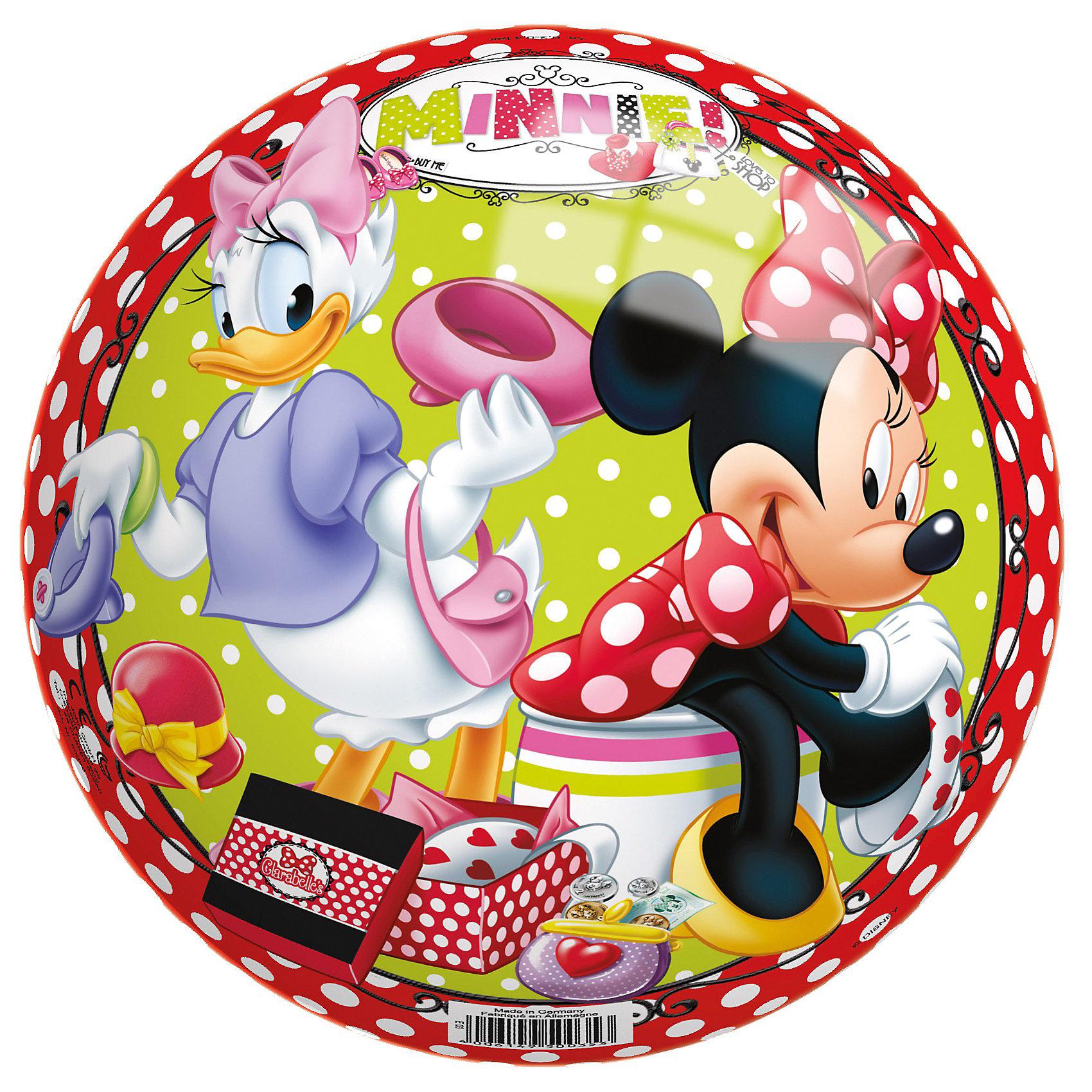 Мяч Минни, 230 мм, JOHNМяч Минни, 230 мм, John (Джон).<br><br>Характеристика:<br><br>• Материал: ПВХ, пластизоль.   <br>• Размер: 23 см. <br>• Оформлен изображением Minnie Mouse (Минни Маус). <br><br>Мяч с изображением очаровательной мышки Минни (Minnie Mouse) обязательно понравится любой девочке! Мяч отлично отскакивает от любой поверхности, изготовлен из прочных экологичных материалов абсолютно безопасных для детей, подходит для игр на улице и в помещении.<br>Игры с мячом помогают развить моторику рук, координацию, внимание и, конечно, подарят детям много положительных эмоций и веселья!<br><br>Мяч Минни, 230 мм, John (Джон), можно купить в нашем интернет-магазине.<br><br>Ширина мм: 225<br>Глубина мм: 215<br>Высота мм: 230<br>Вес г: 120<br>Возраст от месяцев: 36<br>Возраст до месяцев: 96<br>Пол: Женский<br>Возраст: Детский<br>SKU: 3334157