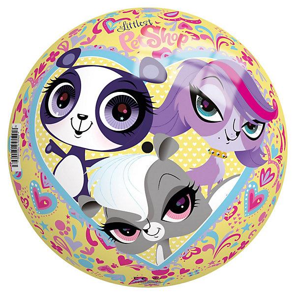Мяч Маленький зоомагазин, 230 мм, JohnМячи детские<br>Мяч Маленький зоомагазин, John - яркий красочный мячик, который замечательно подойдет для веселых подвижных игр как в помещении, так и на улице. Особенность этого мячика - красочные изображения симпатичных зверюшек из популярного мультсериала Маленький зоомагазин (My Littles Pet Shops). Игры с мячом развивают ловкость и координацию движений, способствуют физическому развитию ребенка. <br><br>Дополнительная информация:<br><br>- Материал: ПВХ.<br>- Диаметр: 230 мм.<br>- Размер: 23 х 23 х 23 см.<br>- Вес: 0,2 кг.<br><br>Мяч Маленький зоомагазин, 230 мм., John, можно купить в нашем интернет-магазине.<br>Ширина мм: 209; Глубина мм: 210; Высота мм: 210; Вес г: 109; Возраст от месяцев: 36; Возраст до месяцев: 96; Пол: Женский; Возраст: Детский; SKU: 3334160;