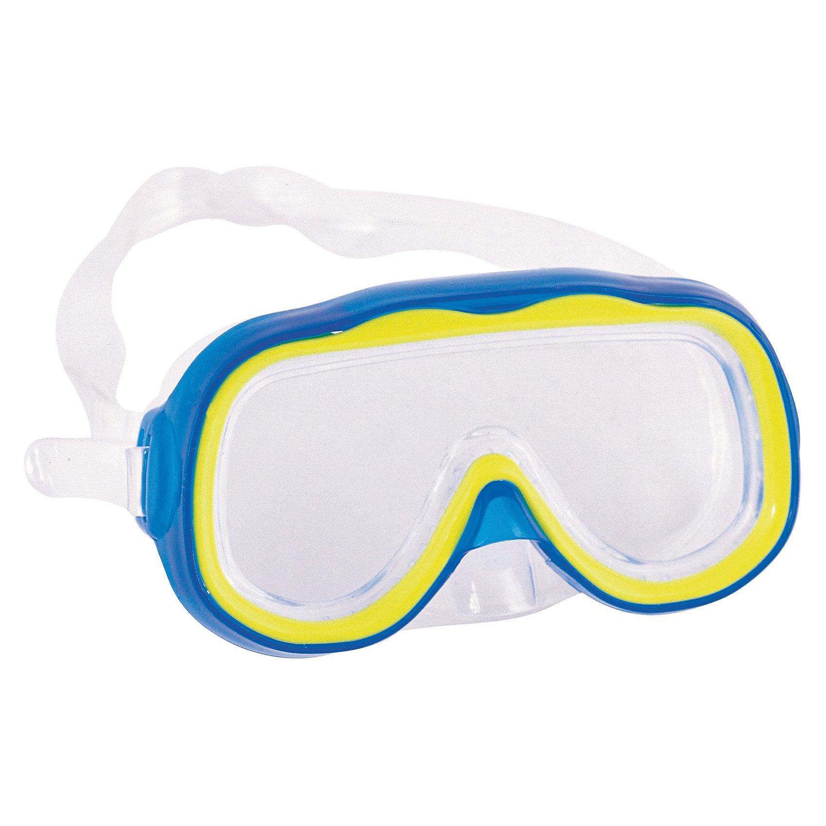 Детская маска для подводного плавания Исследователь, BestwayДетская маска для подводного плавания Исследователь, Bestway (Бествей) предназначена для подводного плавания. Отличное качество позволяет полностью насладиться красотой подводного мира или просто получить удовольствие в бассейне. Под водой можно находиться длительное время, а вода не будет проникать, так как маска хорошо и плотно прилегает к лицу.  Детская маска для подводного плавания Bestway разнообразит игры на воде, позволит изучать подводный мир детям, которые не решаются открыть глаза в воде.  Дополнительная информация:  - В комплекте: маска для плавания - Материал: ударопрочный поликарбонат - Уплотнитель: силикон  Детскую маску для подводного плавания Исследователь, Bestway (Бествей) можно купить в нашем интернет-магазине.<br><br>Ширина мм: 166<br>Глубина мм: 157<br>Высота мм: 43<br>Вес г: 91<br>Возраст от месяцев: 36<br>Возраст до месяцев: 72<br>Пол: Унисекс<br>Возраст: Детский<br>SKU: 3340135
