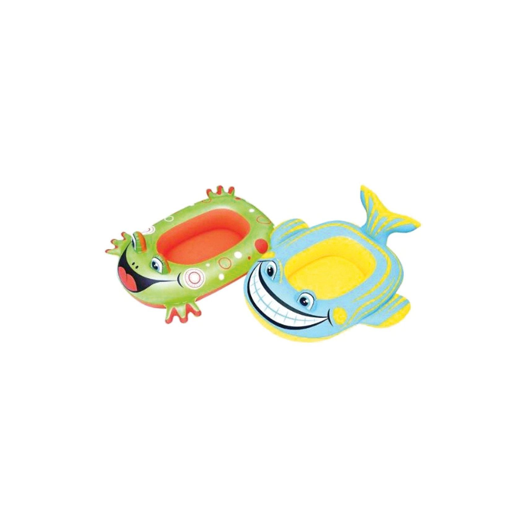 Надувная лодочка,  BestwayНадувная лодочка, Bestway (Бествей) обеспечит безопасность и комфорт Вашего ребенка во время купания и активных игр в воде. Лодочка выполнен из прочного материала, устойчива на воде и имеет яркий привлекательный дизайн в виде красочной рыбки или забавной лягушки (в ассортименте). Надувается с помощью насоса (в комплект не входит). Также лодочку можно использовать как минибассейн. <br><br>Дополнительная информация:<br><br>- Материал: винил.<br>- Размер лодки: 99 х 66 см.<br>- Размер упаковки: 25,4 х 26,6 см.<br><br>Надувную лодочку, Bestway (Бествей) можно купить в нашем интернет-магазине.<br><br>Ширина мм: 283<br>Глубина мм: 259<br>Высота мм: 25<br>Вес г: 386<br>Возраст от месяцев: 36<br>Возраст до месяцев: 72<br>Пол: Унисекс<br>Возраст: Детский<br>SKU: 3340144