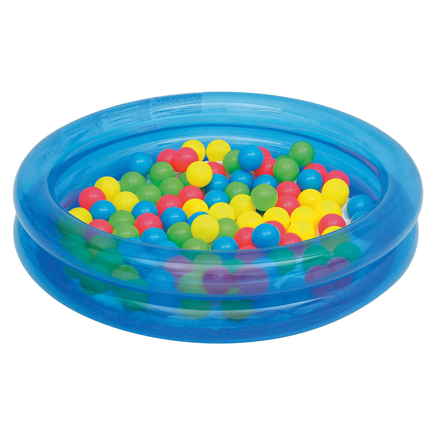 Bestway Детский надувной бассейн с 50 шариками для игры, Bestway бассейн bestway 457х107см бв57127