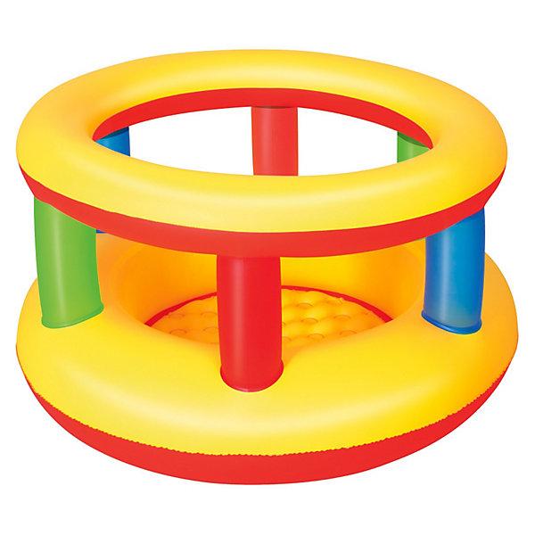 Надувной манеж, 112х63 см, BestwayНадувные центры<br>Надувной манеж, Bestway, прекрасно подойдет для игр малыша как дома так и на улице. Высокие и мягкие боковые стенки и надувной пол гарантируют полную безопасность и комфорт. Манеж выполнен в яркой, привлекательной для ребенка расцветке. Материал представляет собой<br>нетоксичный и прочный винил 0,25 мм., устойчивый к изнашиванию. Поставляется в сдутом виде, насос в комплект не входит. Для детей от 1 года (максимальный вес - 30 кг.).<br><br>Дополнительная информация:<br><br>- Материал: ПВХ.<br>- Размер манежа: 112 х 63,5 см. <br>- Размер упаковки: 30,3 х 29,7 х 6,8 см.<br>- Вес: 1,54 кг.<br><br>Надувной манеж, 112х63 см., Bestway, можно купить в нашем интернет-магазине.<br>Ширина мм: 303; Глубина мм: 297; Высота мм: 68; Вес г: 1547; Возраст от месяцев: 0; Возраст до месяцев: 36; Пол: Унисекс; Возраст: Детский; SKU: 3340161;