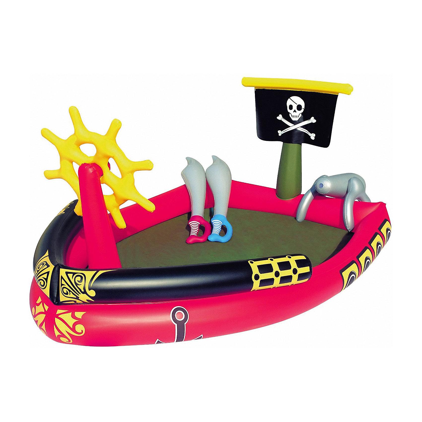 Bestway Детский игровой бассейн Пираты, Bestway бассейн bestway 457х107см бв57127