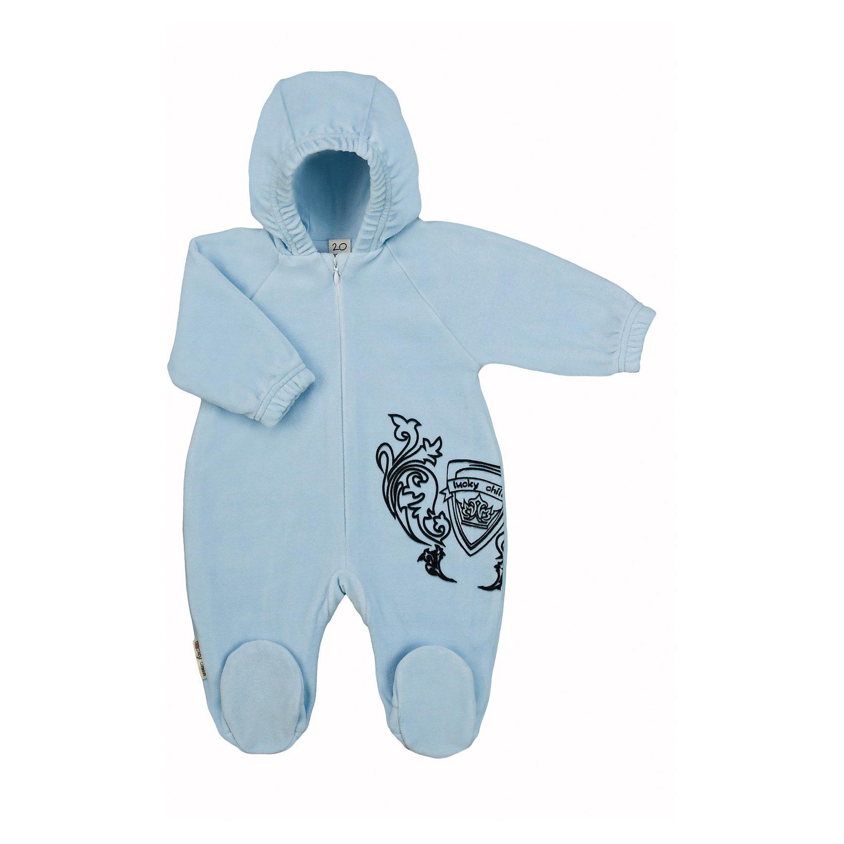 Lucky Child Комбинезон для мальчика Lucky Child пижамы lucky child пижама