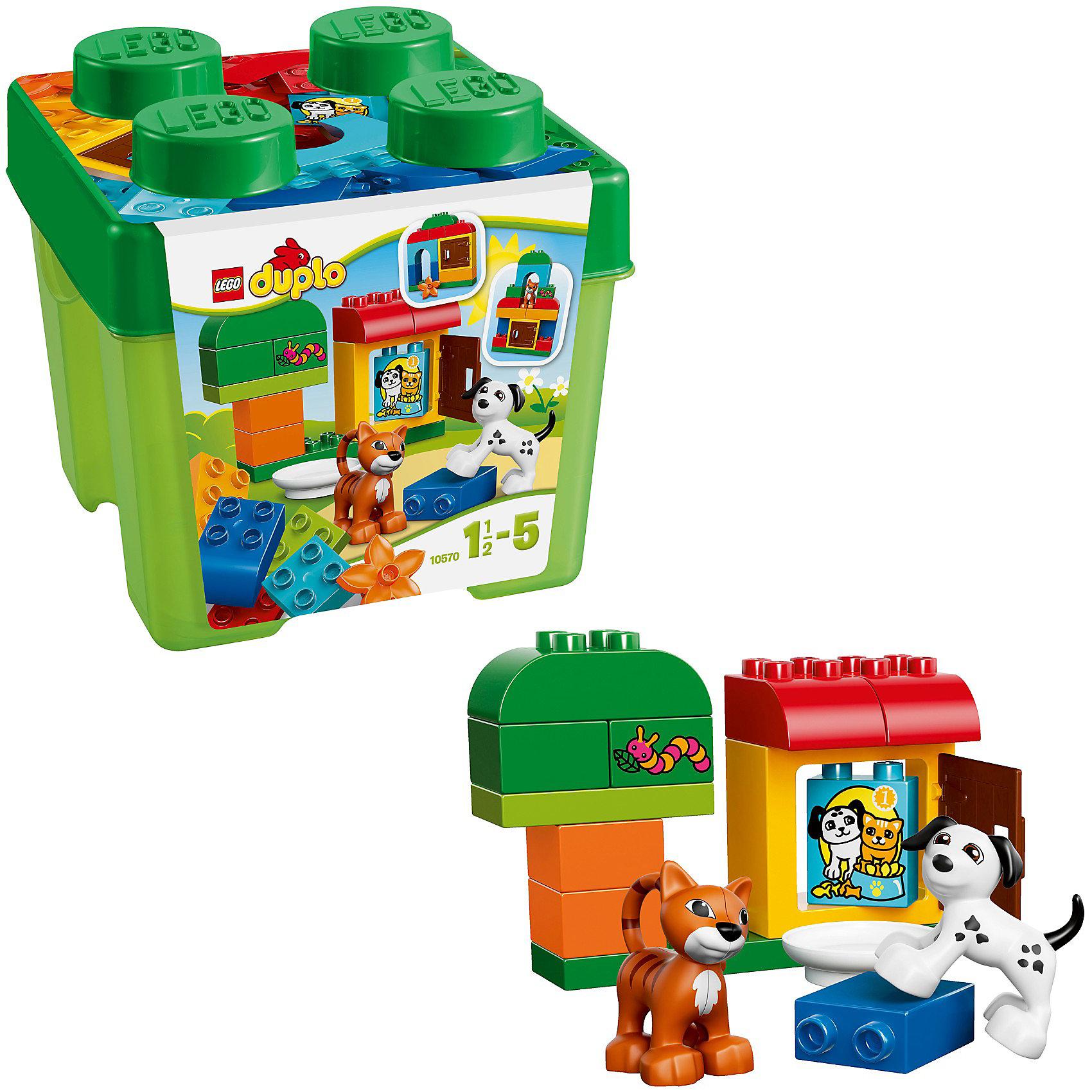 LEGO DUPLO 10570: Лучшие друзья: кот и пёс