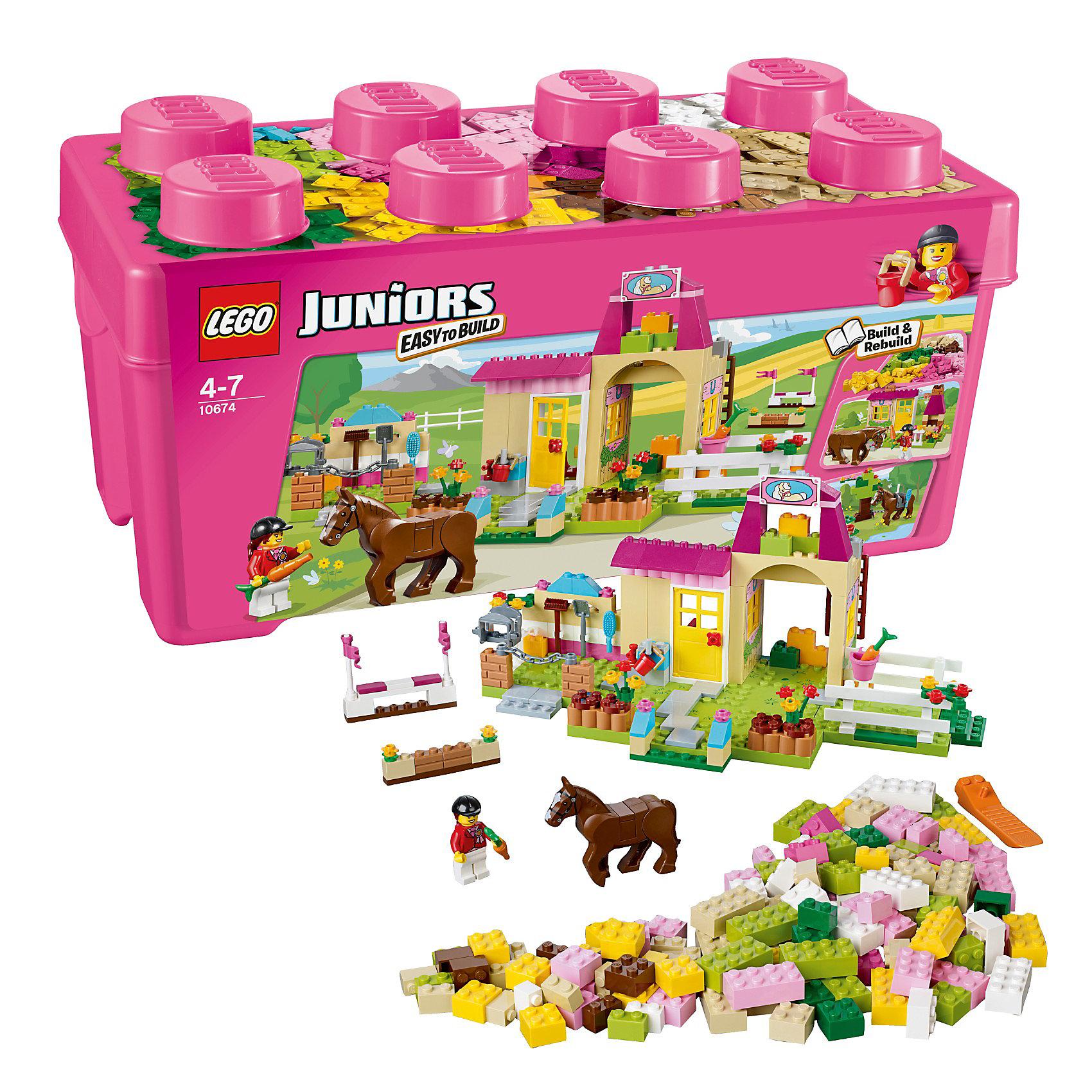 LEGO LEGO Juniors 10674: Пони на ферме lego juniors 10739 лего джуниорс ниндзяго нападение акулы