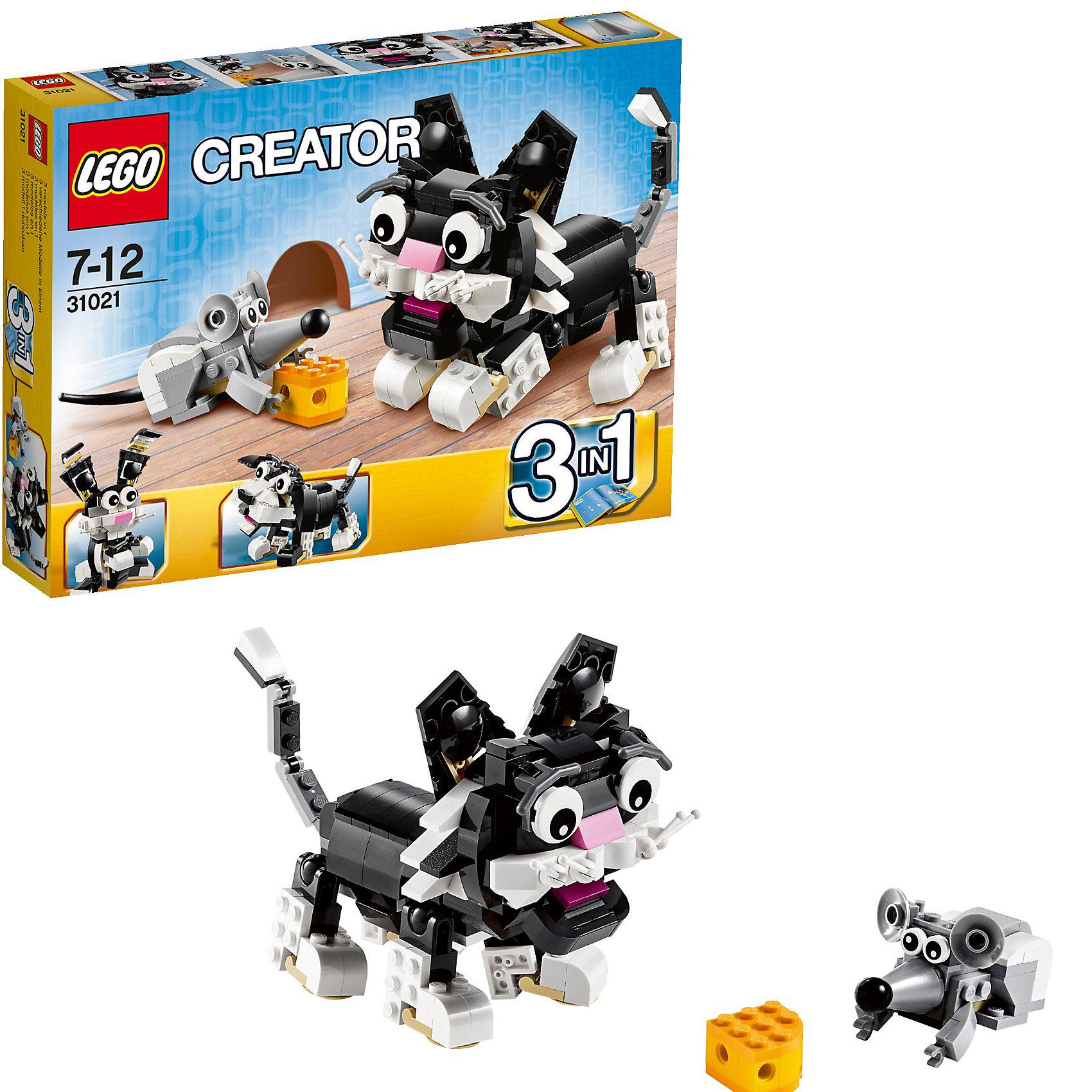 LEGO Creator 31021: Пушистые зверюшки