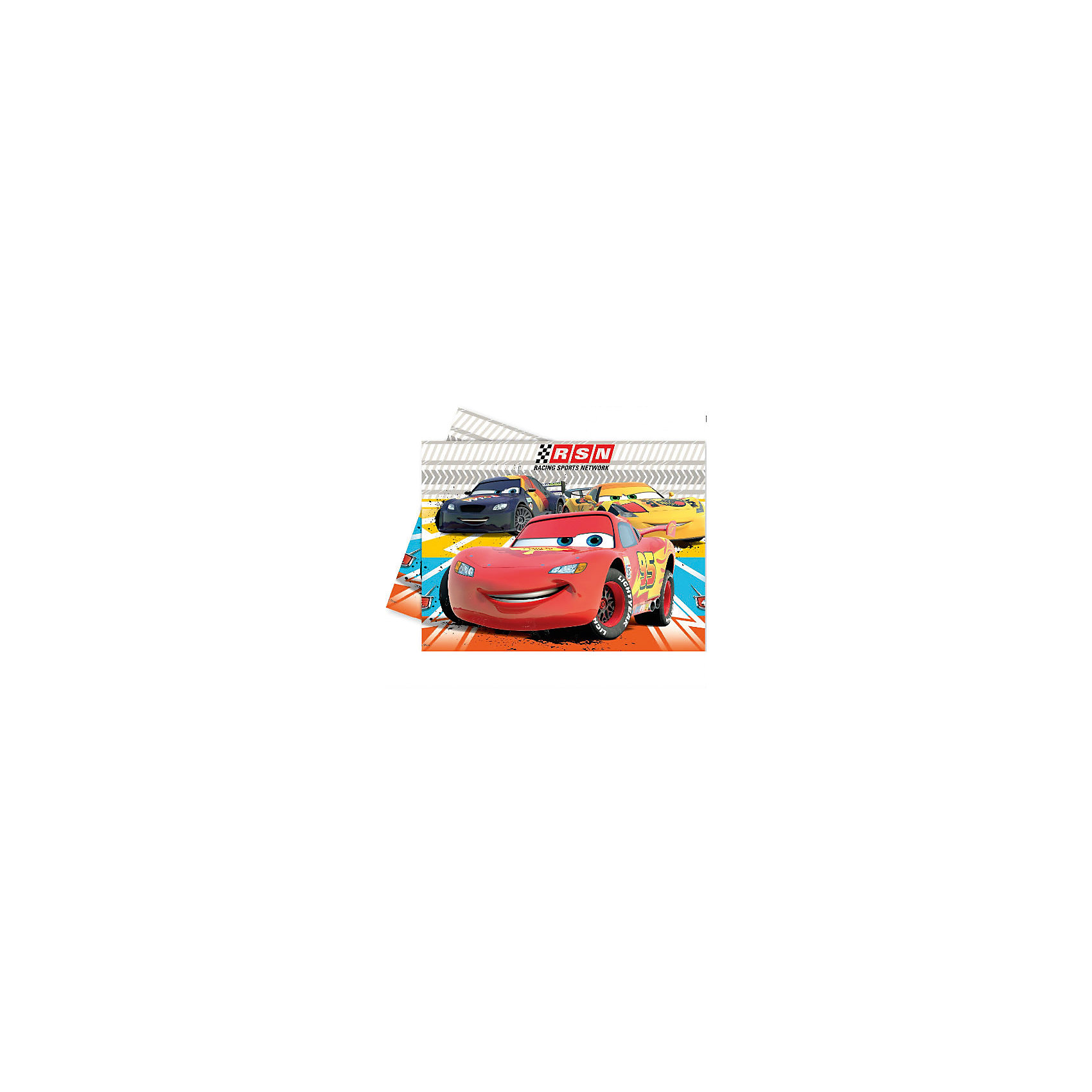 Скатерть  Тачки RSN 120x180 смВсё для праздника<br>Скатерть Тачки RSN поможет в оформлении оригинального и необычного детского праздника, а также избавиться от ненужных пятен и крошек. Для каждого ребенка важно не только получить подарки, но и ощущать праздничную атмосферу. Теперь Ваш ребенок сможет отметить свой День рождения с самым крутым гоночным автомобилем «Молнией» Маккуином и его друзьями. Скатерть сделана из качественных материалов, не токсична, противоаллергенна и безопасна для здоровья Вашего ребенка.@# <br>Размер: 120х180 см.@#<br>Для детей от 3 лет.@#<br><br>Ширина мм: 4<br>Глубина мм: 380<br>Высота мм: 210<br>Вес г: 78<br>Возраст от месяцев: -2147483648<br>Возраст до месяцев: 2147483647<br>Пол: Мужской<br>Возраст: Детский<br>SKU: 3342922