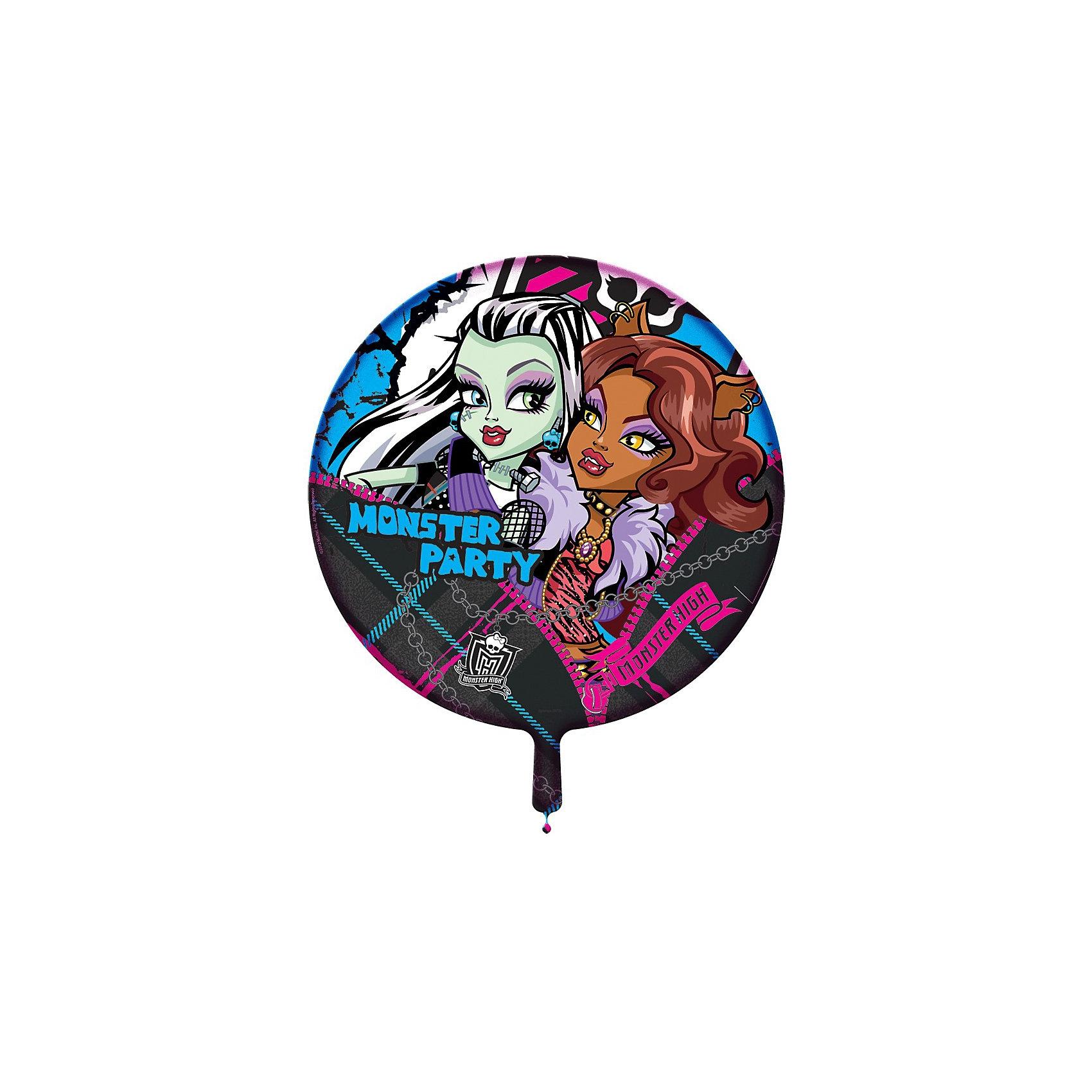 Росмэн Шар надувной Вечеринка Монстров, Monster High росмэн наклейки и раскраски голубая monster high