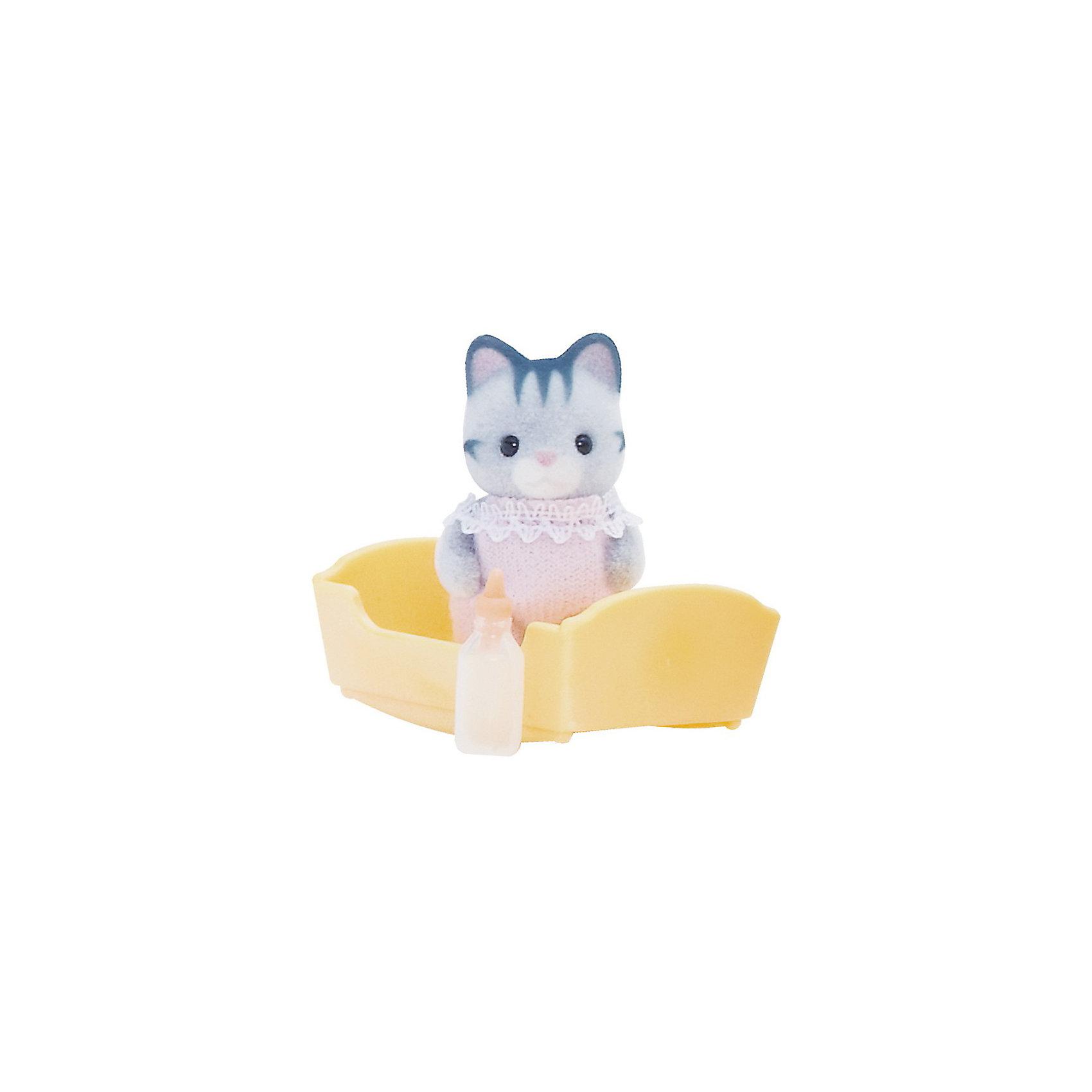Набор Малыш Серый котенок, Sylvanian FamiliesНабор Малыш Серый котенок, Sylvanian Families - игровой набор, который наверняка порадует Вашего ребенка.<br><br>Дополнительная информация:<br><br>Размеры товара: фигурка 4см <br>Размеры коробки: 7,5х3,5х12 см<br><br>  Набор Малыш Серый котенок, Sylvanian Families можно купить в нашем интернет магазине.<br><br>Ширина мм: 120<br>Глубина мм: 81<br>Высота мм: 38<br>Вес г: 35<br>Возраст от месяцев: 36<br>Возраст до месяцев: 72<br>Пол: Женский<br>Возраст: Детский<br>SKU: 3345289
