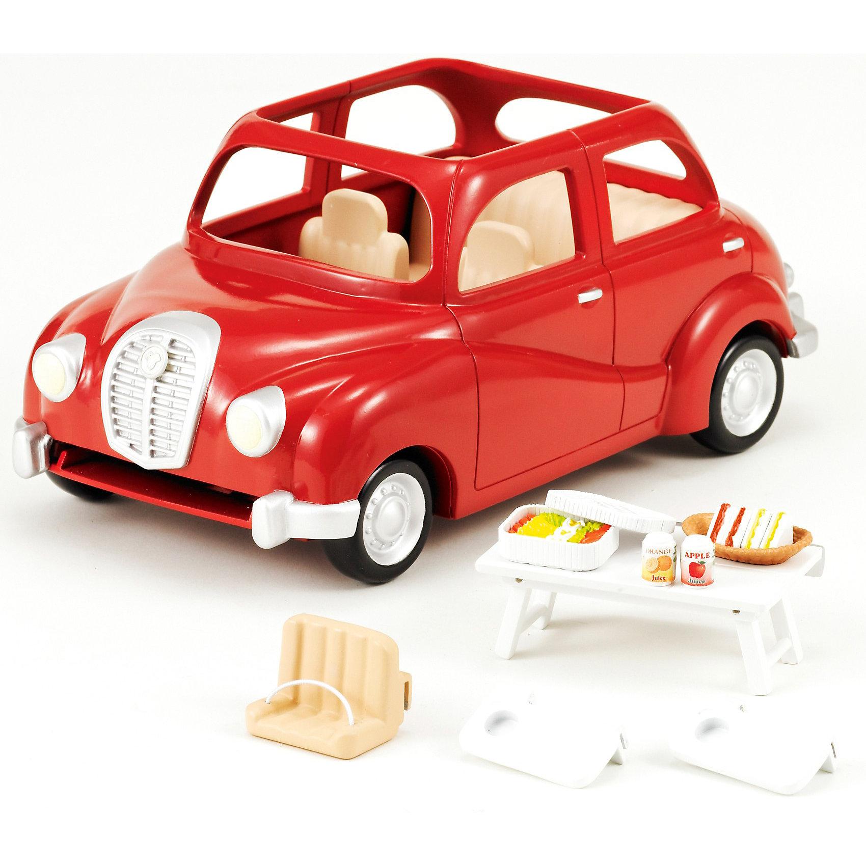 - Набор Семейный автомобиль, красный , Sylvanian Families