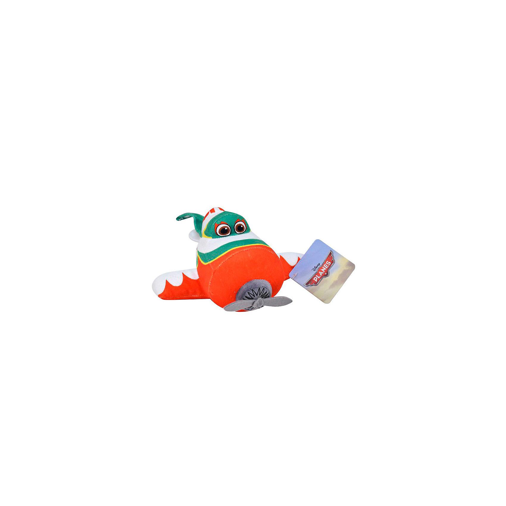 Мягкая игрушка Эль Чу, 20 см, СамолетыМягкая игрушка Эль Чу, 20 см, Самолеты -  очаровательная глазастая мягкая игрушка-самолетик, которая наверняка порадует Вашего ребенка!<br><br>Эль Чу (Эль Чупакабра) - герой нового и уже получившего популярность полнометражного диснеевского мультфильма Самолеты - мексиканский самолет, с циферкой 5 на хвосте. <br>Он - настоящая легенда в Мексике. Общаясь с ним, никогда не знаешь, что из его рассказов правда, а что - легенда, но гонкам он отдается целиком!<br><br>Дополнительная информация:<br><br>- Размер игрушки: 20 см.<br>- Материалы: текстиль.<br><br>Мягкую игрушку Эль Чу, 20 см, Самолеты можно купить в нашем интернет-магазине.<br><br>Ширина мм: 170<br>Глубина мм: 90<br>Высота мм: 100<br>Вес г: 90<br>Возраст от месяцев: 36<br>Возраст до месяцев: 192<br>Пол: Унисекс<br>Возраст: Детский<br>SKU: 3348050