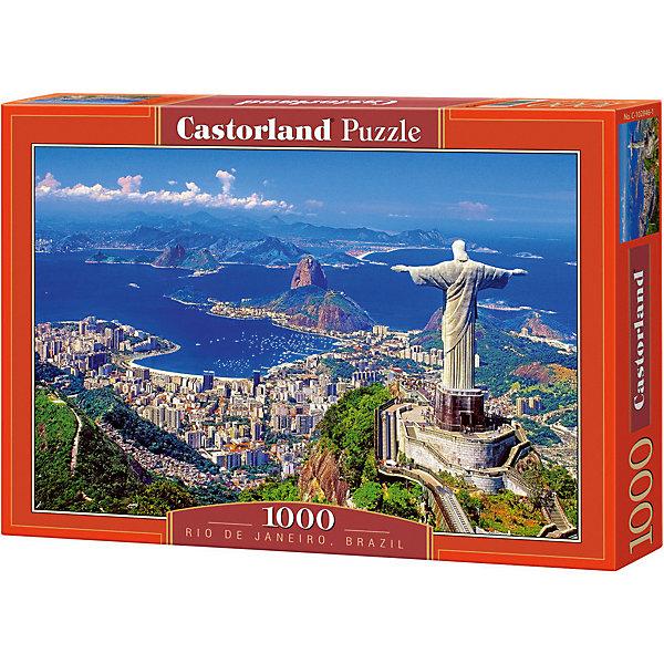 Пазл Рио-де-Жанейро, 1000 деталей, CastorlandПазлы классические<br>Рио де Жанейро - удивительный, красивый пазл из 1000 деталей от Castorland (Касторленд)!<br><br>Пазл отличается высочайшим качеством полиграфии, насыщенными цветами, идеальной стыковкой элементов, изготовленных из плотного, нерасслаивающегося картона. Особая техника штамповки компании Castorland гарантирует, что каждая деталь идеально встанет на свое место, картинка будет прочно фиксироваться при сборке и не сломается, если ее случайно задеть.<br><br>Этот красивый пазл можно складывать всей семьей, с друзьями или, напротив, одному, отдыхая от каждодневной суеты и стресса. Такое увлекательное занятие разнообразит Ваш досуг и позволит с пользой проводить свободное время: сбор пазлов развивает воображение, пространственное мышление, фантазию, внимание, память.<br><br>Дополнительная информация:<br><br>- Количество деталей: 1000<br>- Материал: плотный картон<br>- Размер собранного пазла: 680x470 мм <br>- Размер коробки: 350x250x52 мм<br>- Вес: 600 г.<br><br>Пазл Рио-де-Жанейро, 1000 деталей, Castorland (Касторленд) можно купить в нашем интернет-магазине.<br>Ширина мм: 350; Глубина мм: 250; Высота мм: 50; Вес г: 500; Возраст от месяцев: 168; Возраст до месяцев: 1188; Пол: Унисекс; Возраст: Детский; Количество деталей: 1000; SKU: 3350512;