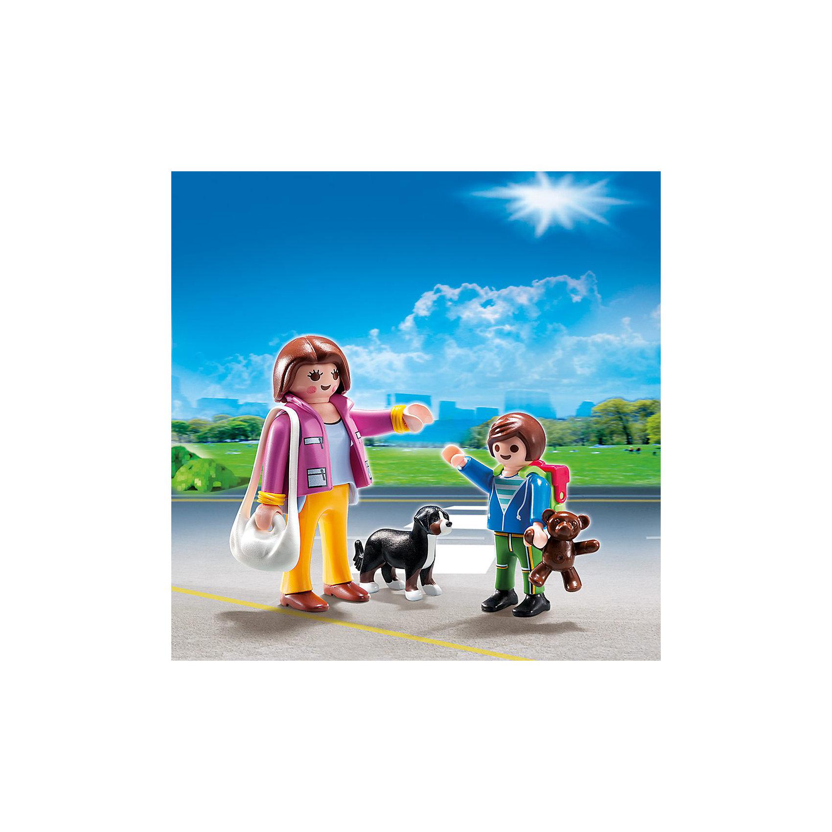 PLAYMOBIL 5513 Особняки: Набор Мама и школьник