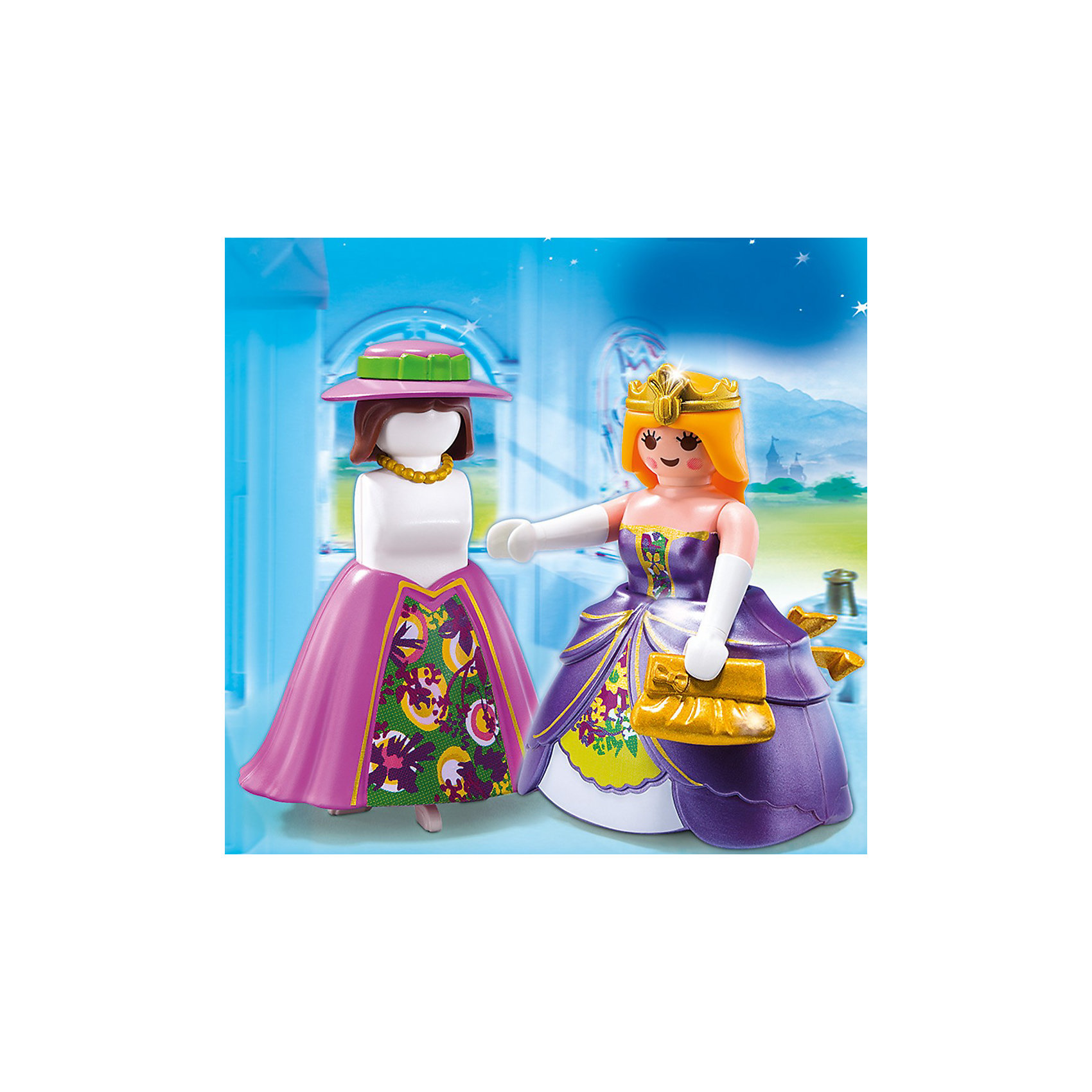 PLAYMOBIL 4781 Дополнение: Принцесса с манекеномПластмассовые конструкторы<br>Конструктор PLAYMOBIL (Плеймобил) 4781 Дополнение: Принцесса с манекеном - прекрасная возможность для ребенка проявить свой творческий потенциал! Серия Дополнение создана специально, чтобы сделать игры с Вашими конструкторами PLAYMOBIL (Плеймобил) еще интереснее.  Принцесса с манекеном станет прекрасным дополнением к наборам из серии Замок Мечты от PLAYMOBIL (Плеймобил). Принцесса собирается на бал или готовится к приему гостей. Помоги ей выбрать прическу и наряд. У нее есть замечательный манекен на котором она примеряет свои вещи. Создай увлекательные истории с набором PLAYMOBIL (Плеймобил) 4781 Дополнение: Принцесса с манекеном!<br><br>Дополнительная информация:<br><br>- Конструкторы PLAYMOBIL (Плеймобил) отлично развивают мелкую моторику, фантазию и воображение;<br>- В наборе: минифигурка принцессы, манекен, аксессуары;<br>- Количество деталей: 13 шт;<br>- Материал: безопасный пластик;<br>- Размер минифигурки: 7,5 см;<br>- Размер упаковки: 14 х 10 х 4 см<br><br>Конструктор PLAYMOBIL (Плеймобил) 4781 Дополнение: Принцесса с манекеном можно купить в нашем интернет-магазине.<br><br>Ширина мм: 140<br>Глубина мм: 103<br>Высота мм: 40<br>Вес г: 62<br>Возраст от месяцев: 48<br>Возраст до месяцев: 120<br>Пол: Женский<br>Возраст: Детский<br>SKU: 3350626
