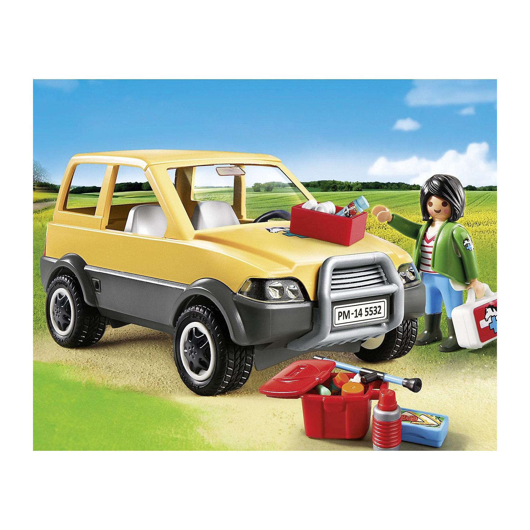 PLAYMOBIL® PLAYMOBIL 5532 Ветеринарная клиника: Автомобиль playmobil® детская клиника рентгеновский кабинет playmobil