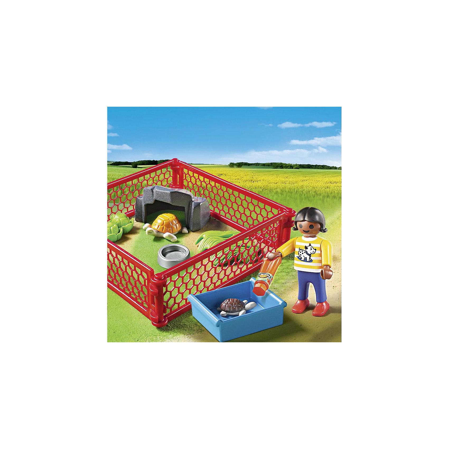 PLAYMOBIL® PLAYMOBIL 5534 Ветеринарная клиника: Загон для черепах playmobil® детская клиника рентгеновский кабинет playmobil