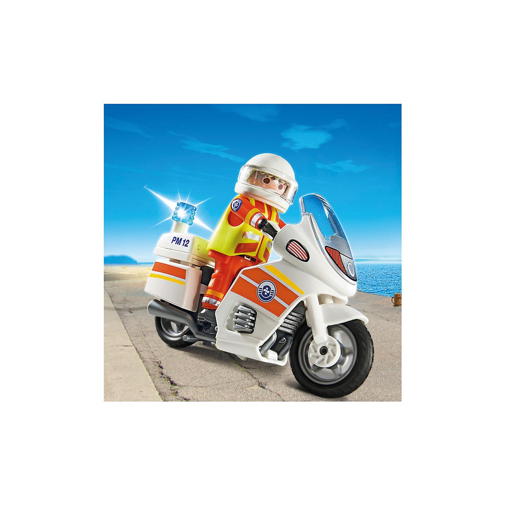 PLAYMOBIL® PLAYMOBIL 5544 Береговая охрана: Мотоцикл первой помощи с мигалкой какой мотоцикл до 60000рублей